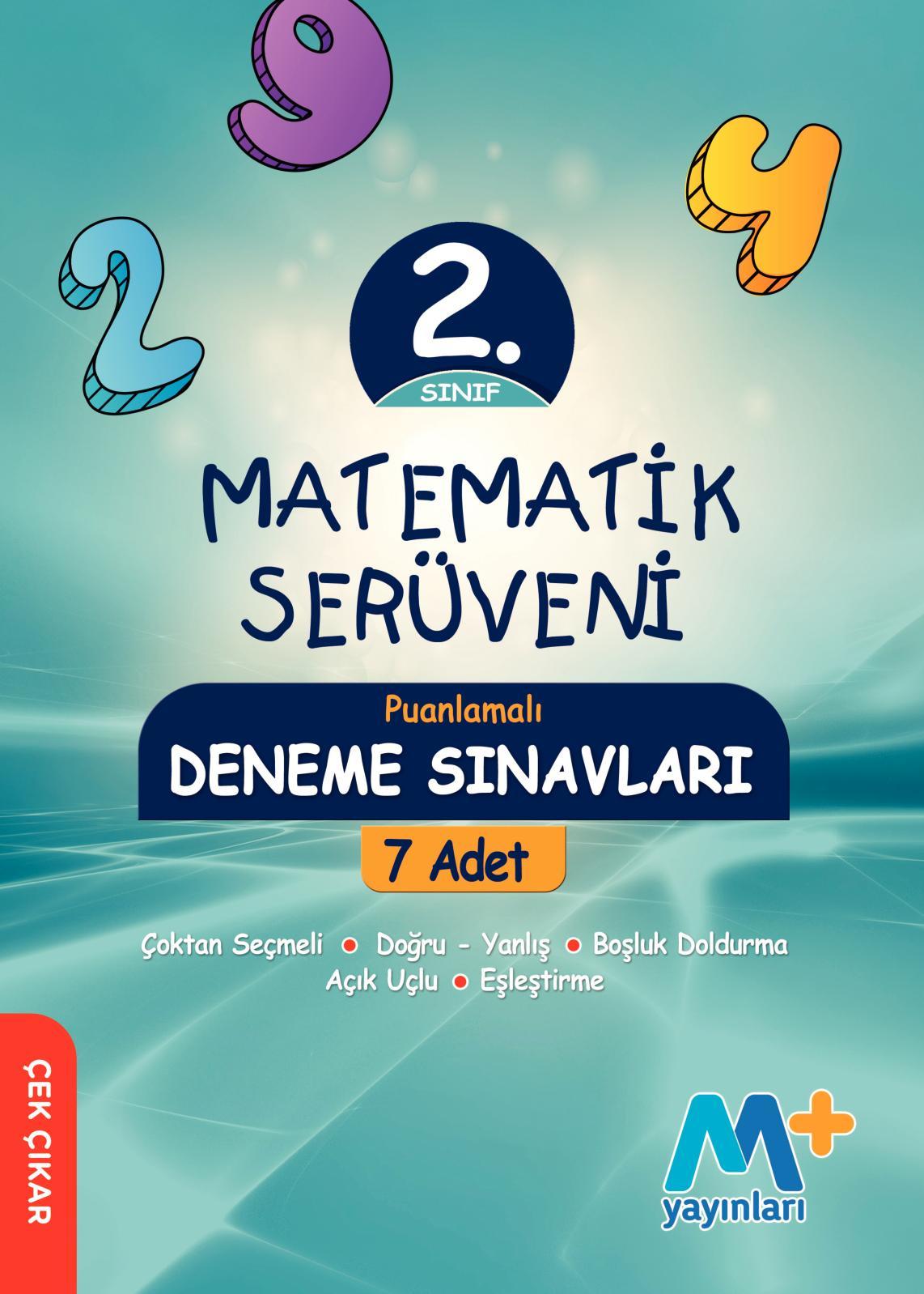 2. Sınıf Matematik Deneme Kitabı Serüven Seti