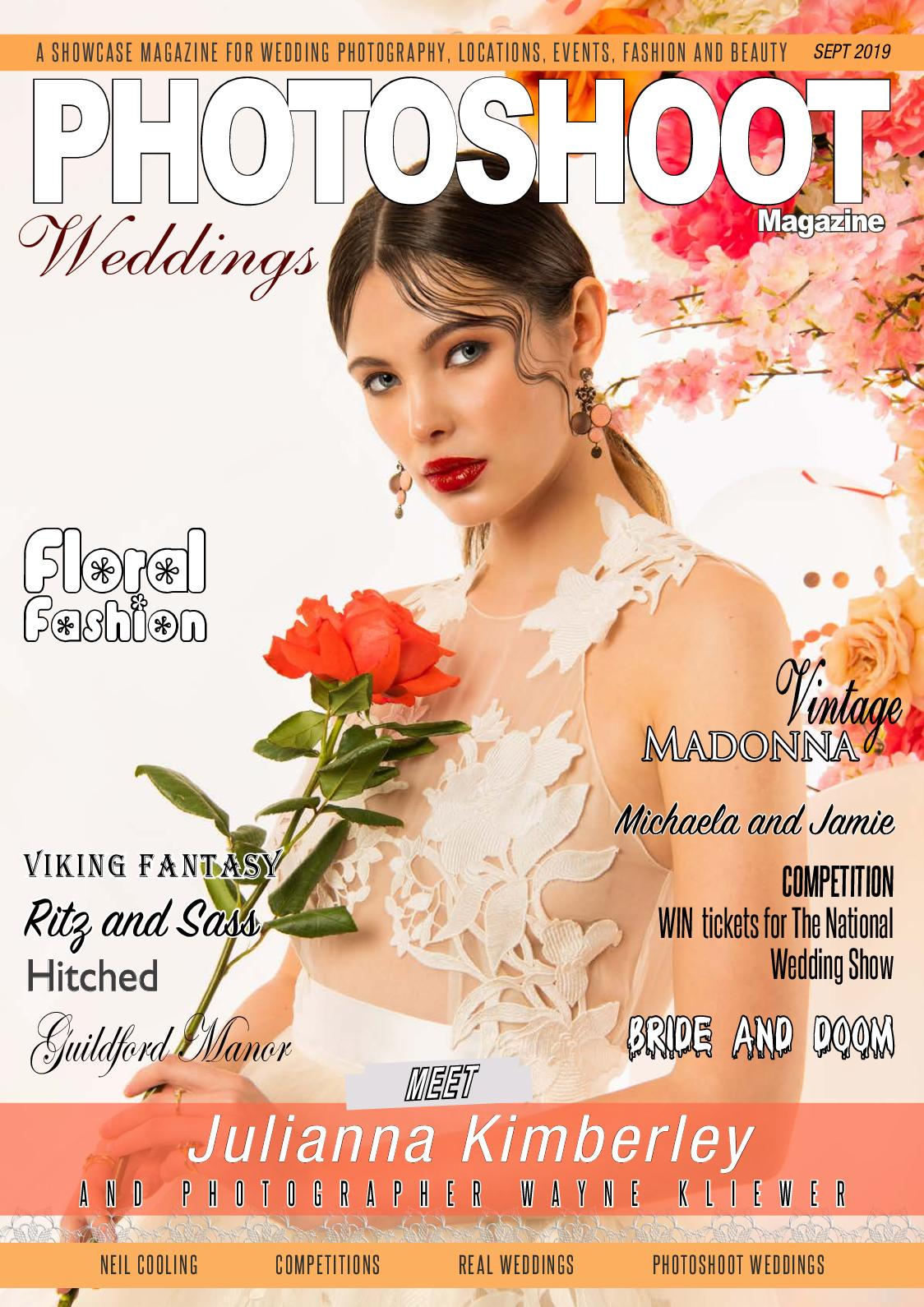 PHOTOSHOOT Weddings Themed Special Sept 2019