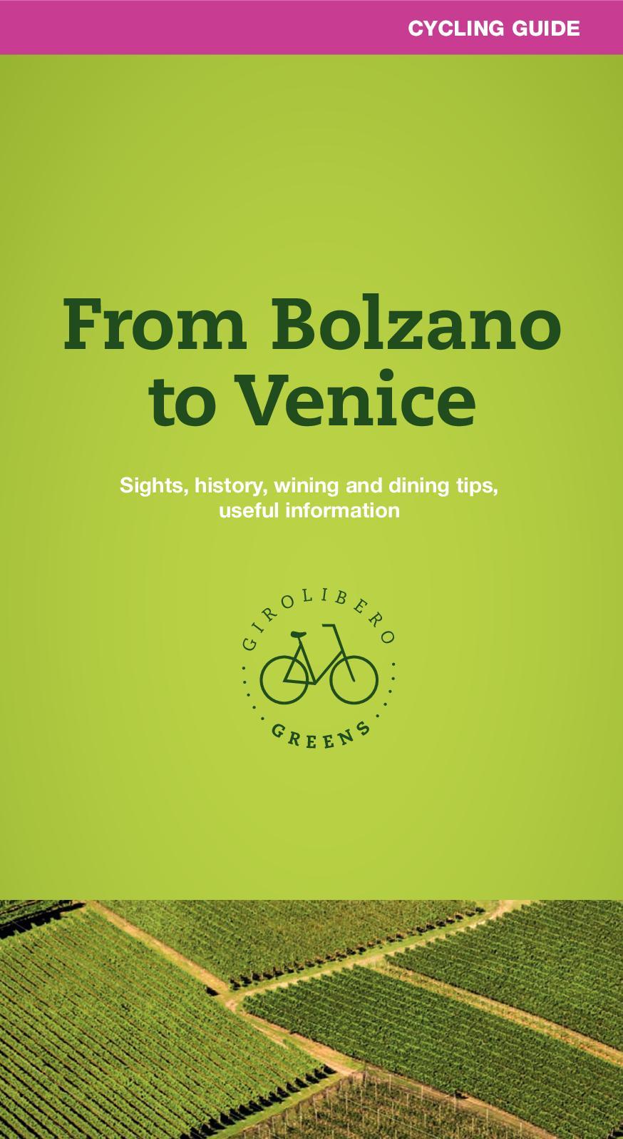 Calaméo Bolzano Verona Venice Cycling Guide Girolibero Greens