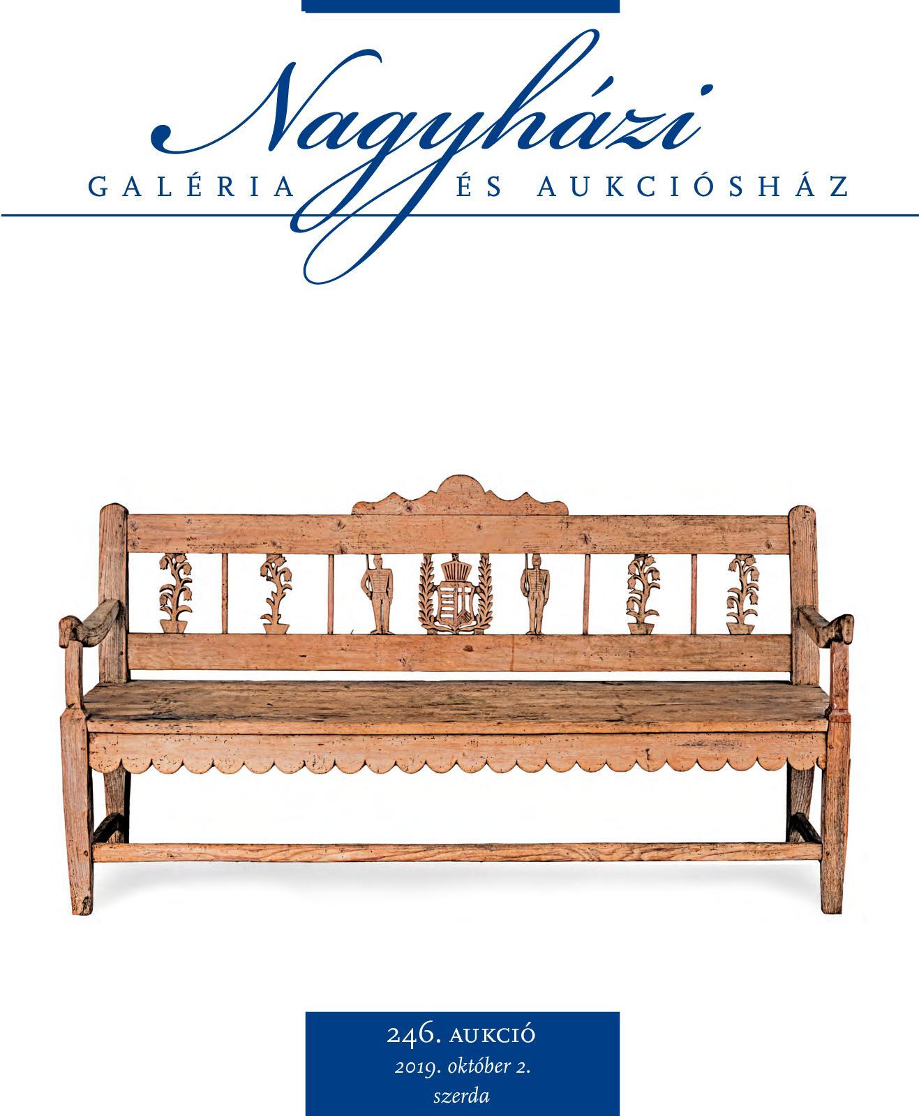 Nagyházi Galéria és Aukciósház - 246. aukció