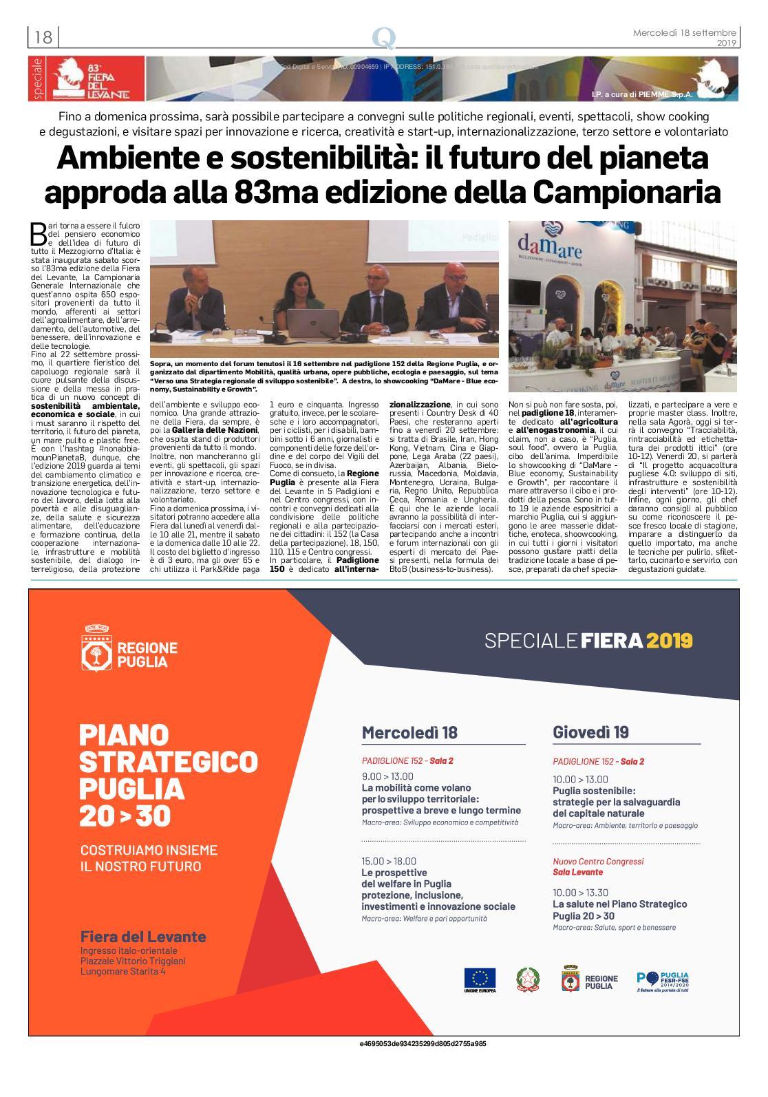 Calameo Fiera Del Levante 2019