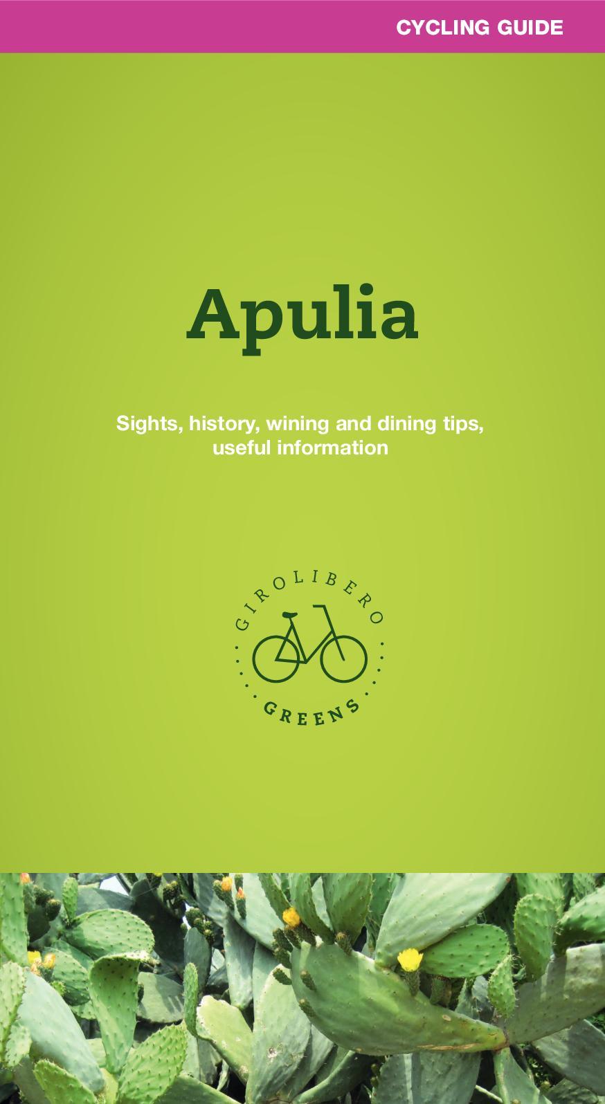 Calam O Apulia Cycling Guide Girolibero Greens