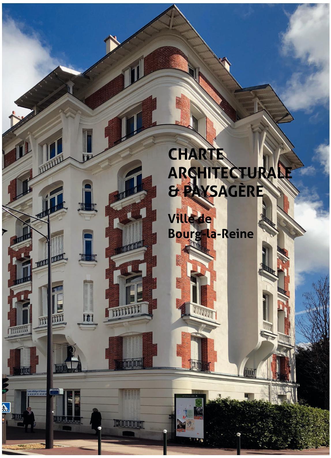 Caracteristique D Un Immeuble Haussmannien calaméo - charte architecturale et paysagère de bourg la reine