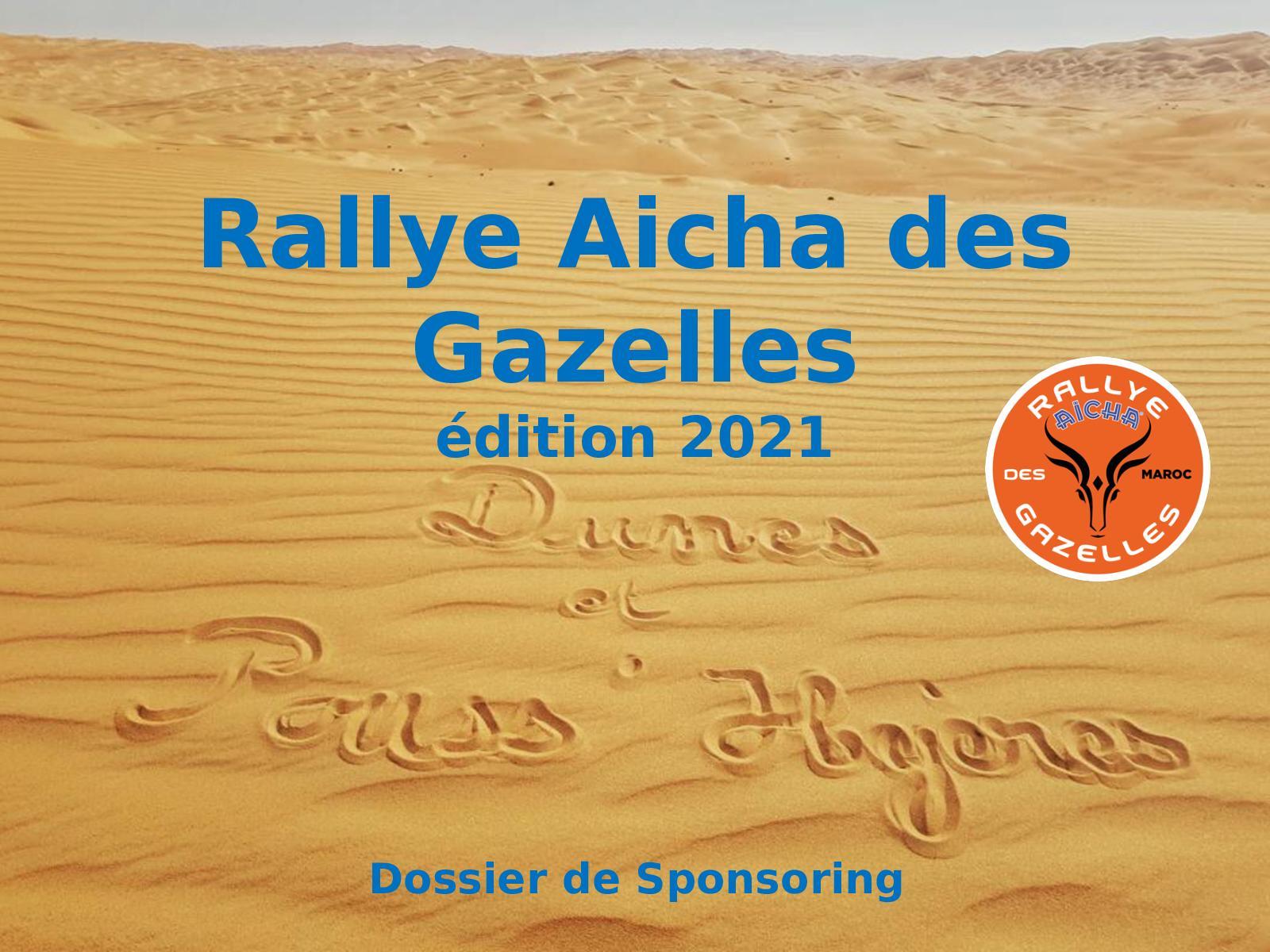 Dossier Sponsoring - Dunes et Pouss'hyères