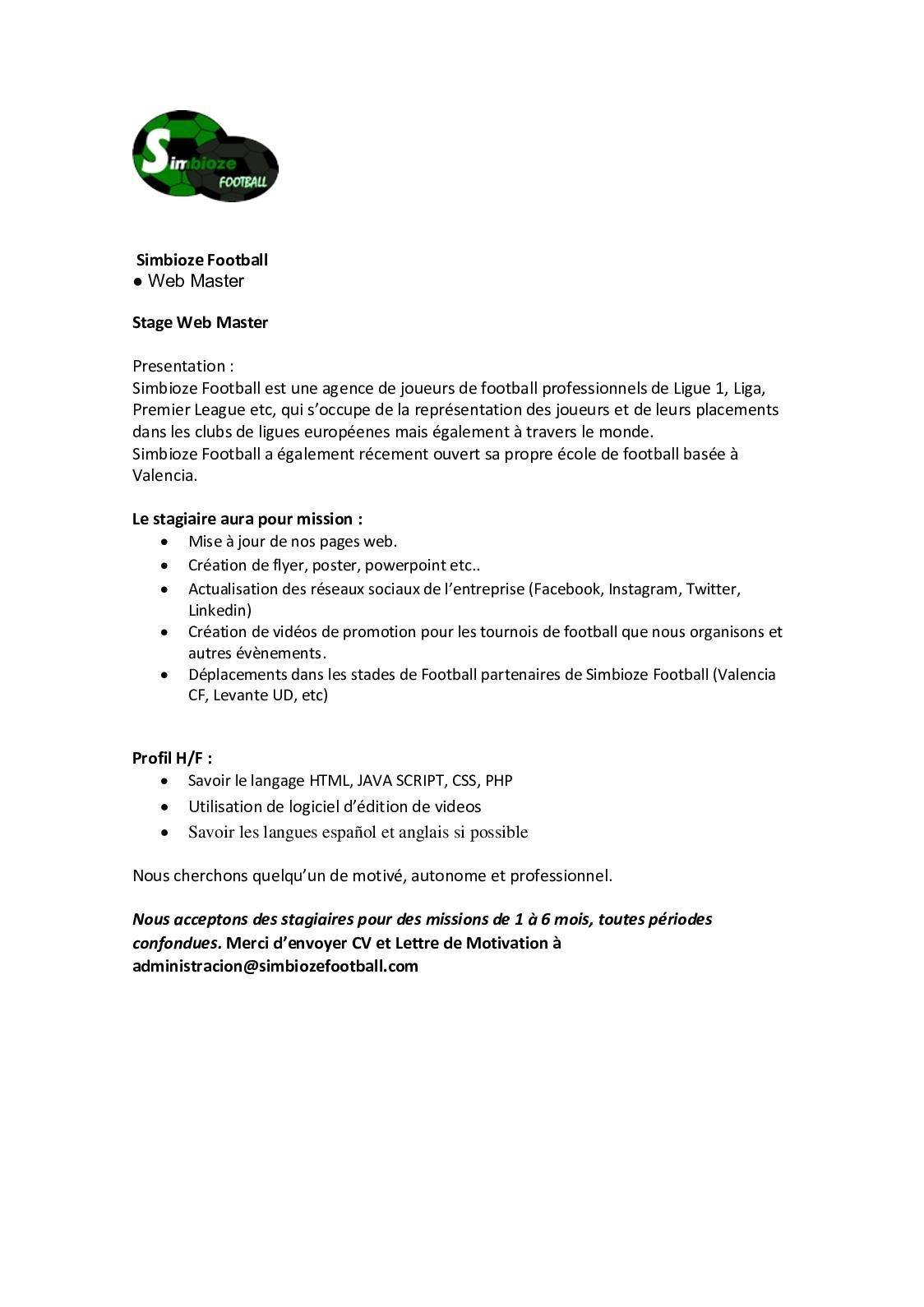 Calaméo B3 Pge Simbioze Football Webmaster 2019 2020