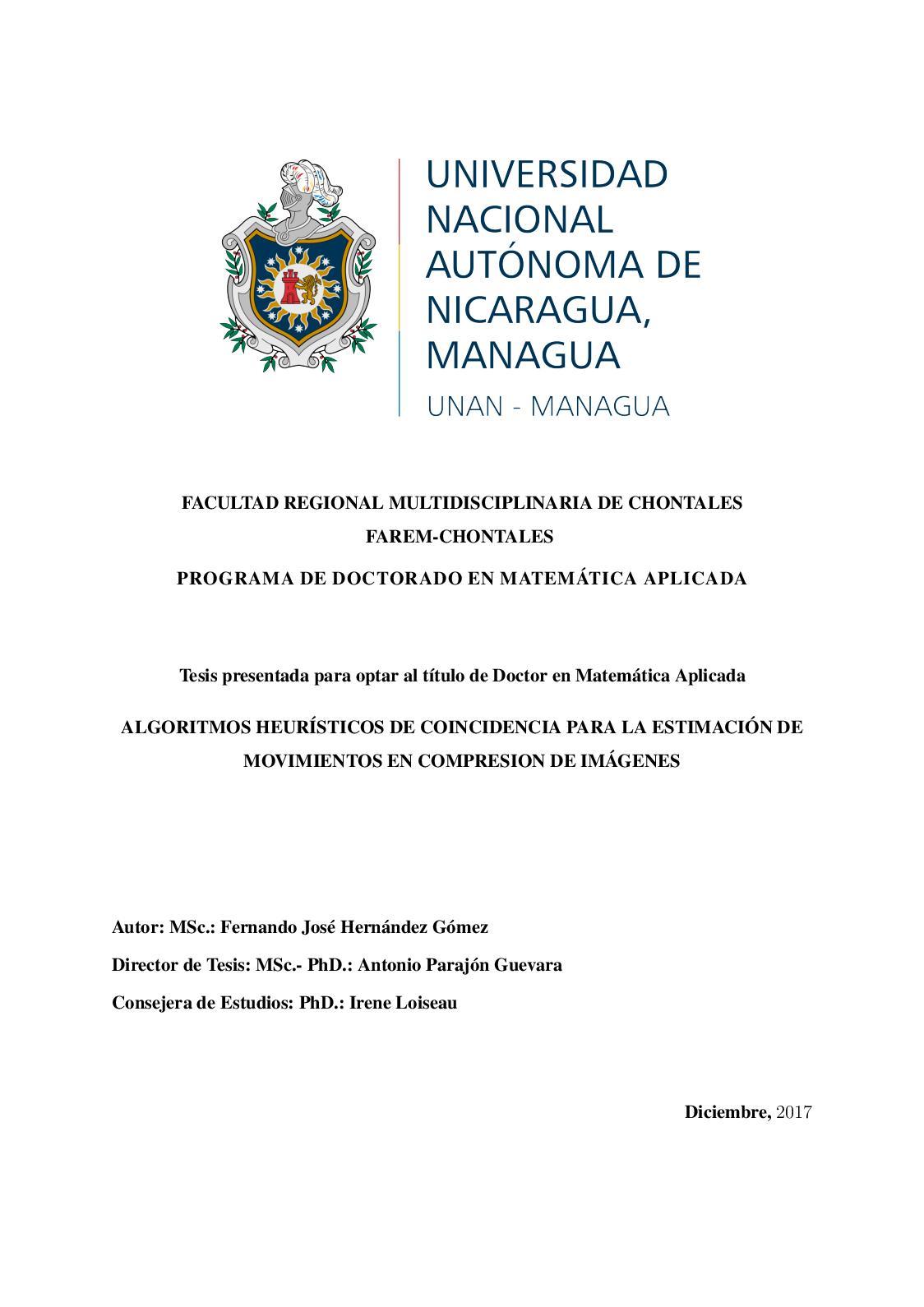 Calaméo Algoritmos Heurísticos De Coincidencia Fernando J