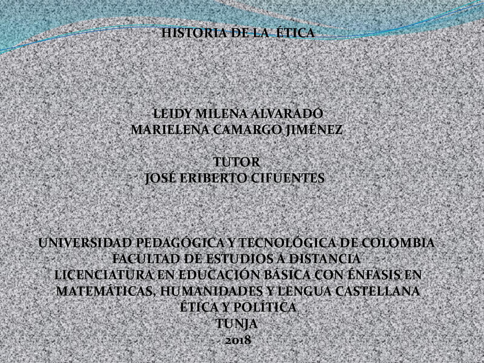 Calaméo Historia De La Etica