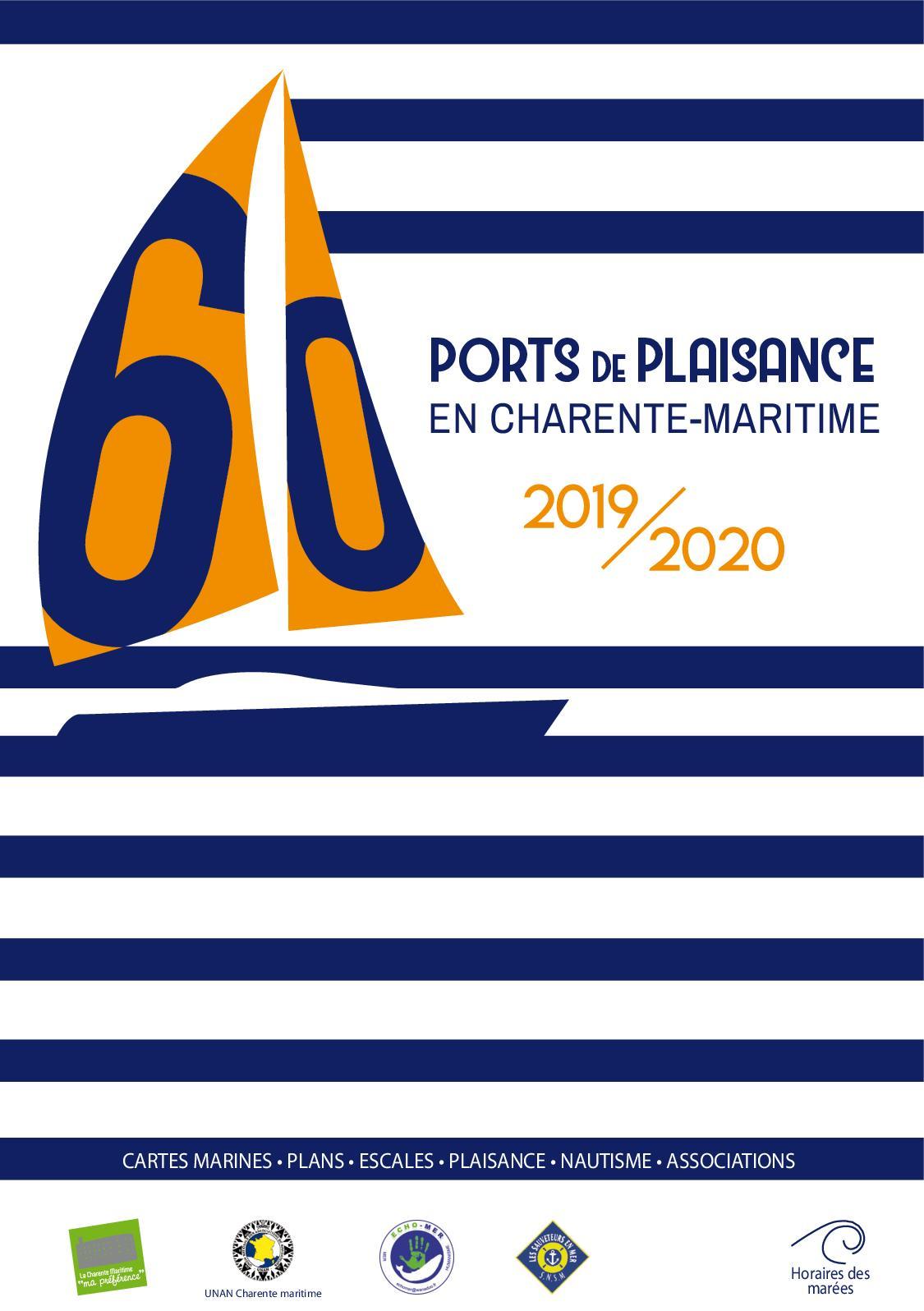 Calendrier Des Marees La Rochelle 2020.Calameo Guide Des 60 Ports De Plaisance En Charente