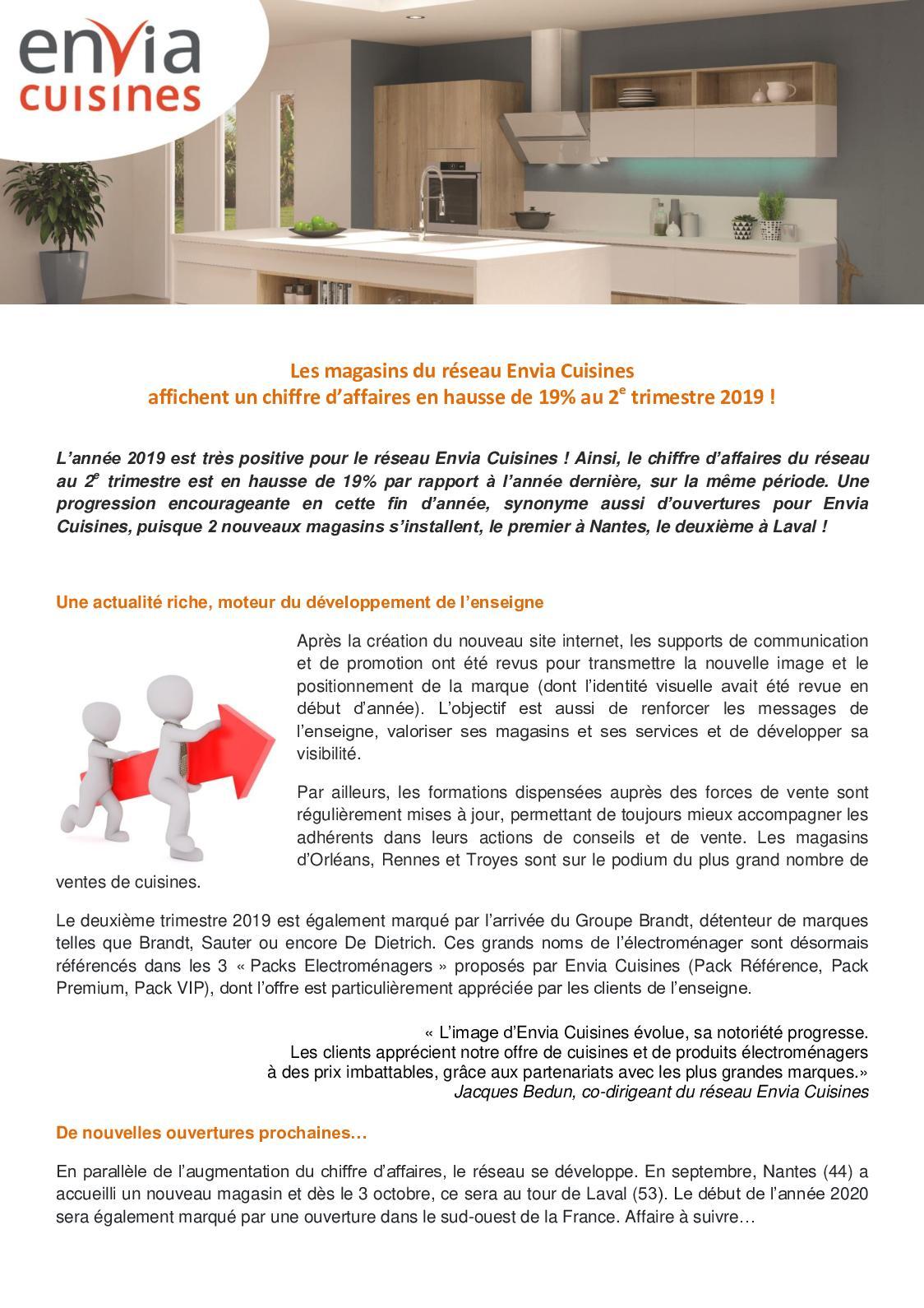 Calameo Communique De Presse Croissance Ca 2e Semestre