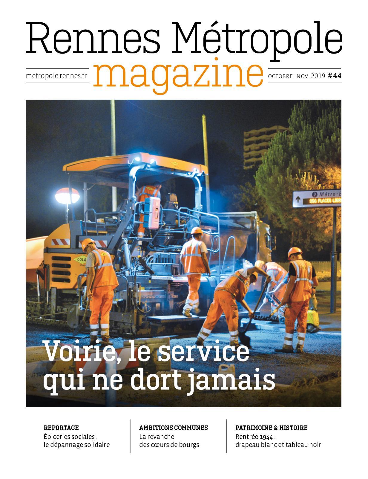 Calaméo Rennes Métropole Magazine Octnov 2019
