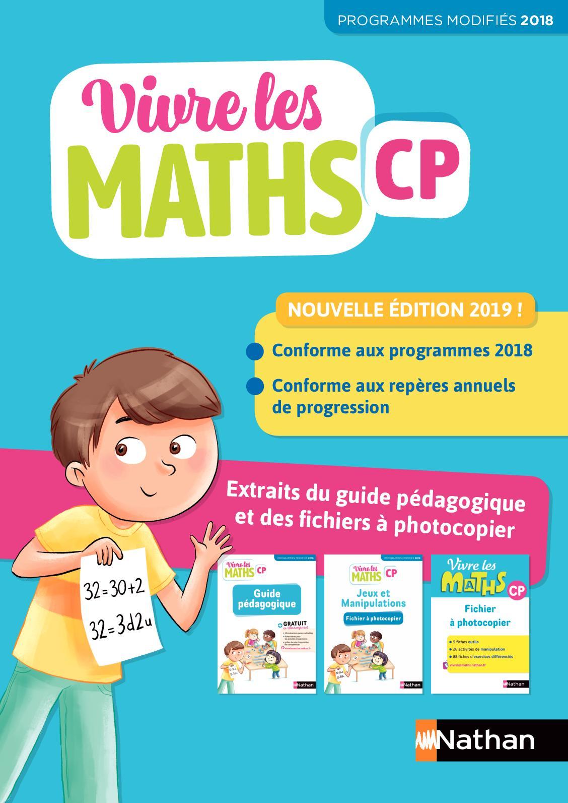 Calameo Extrait Vivre Les Maths Cp Guide Pedagogique