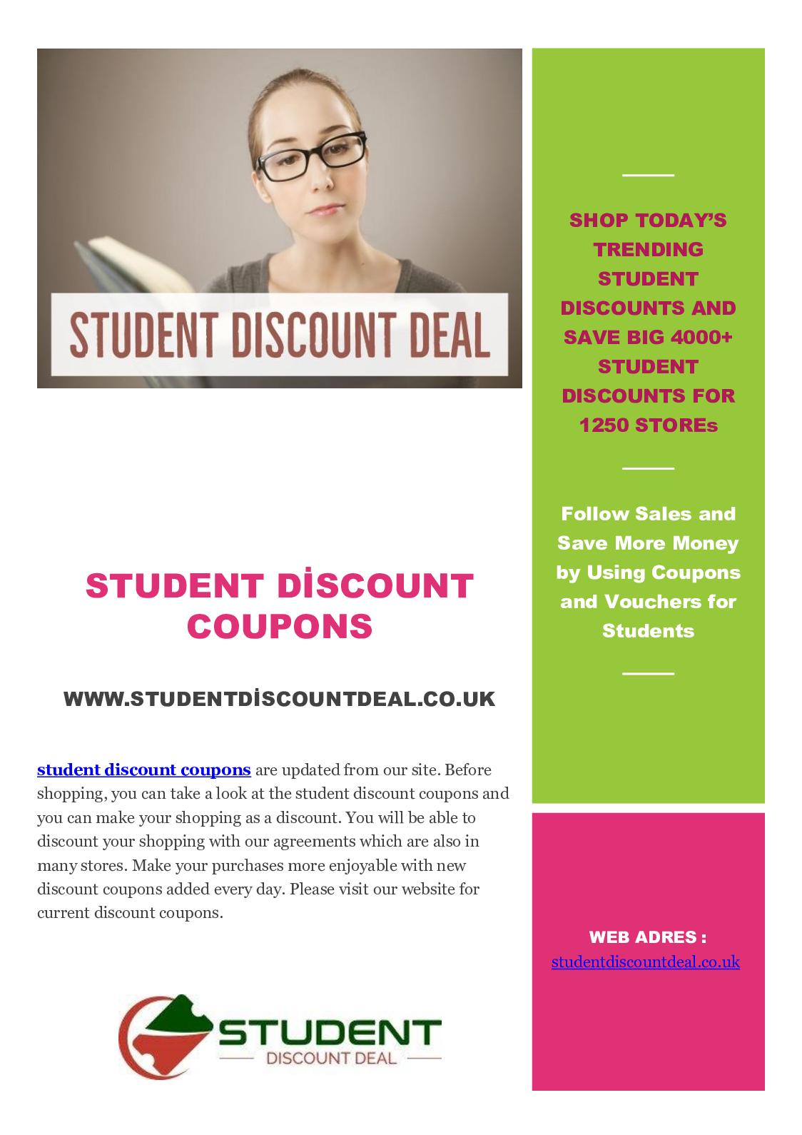 first look lace up in no sale tax Calaméo - Student Discount Coupons