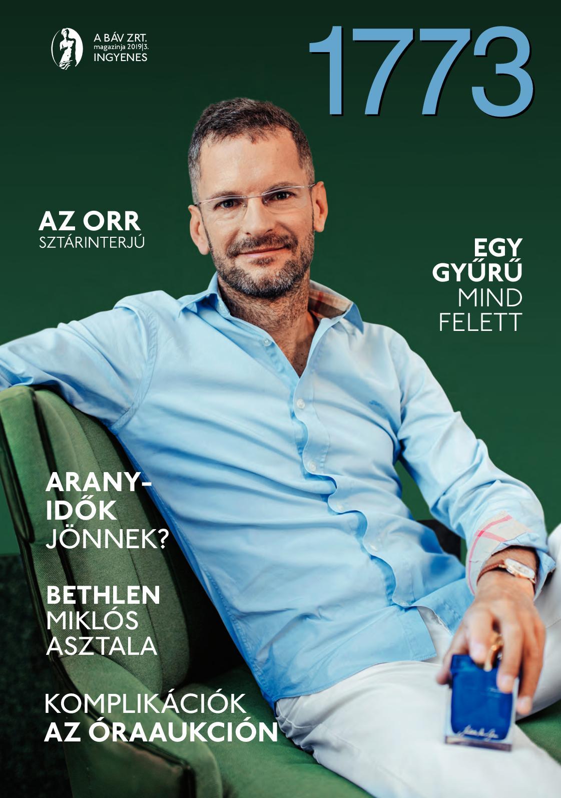 BÁV 1773 Magazin 2019/3