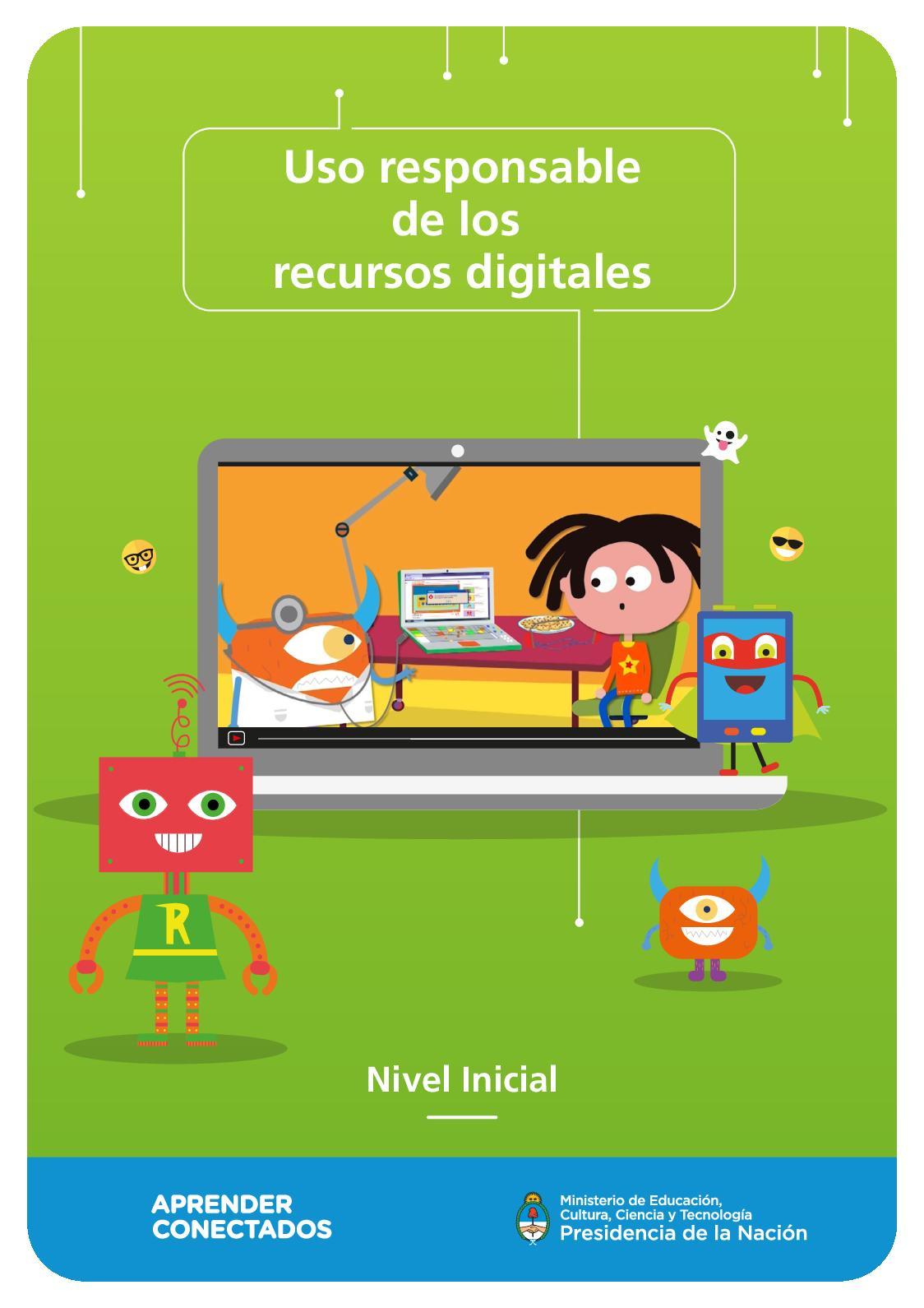 Uso Responsable De Los Recursos Digitales Nivel Inicial