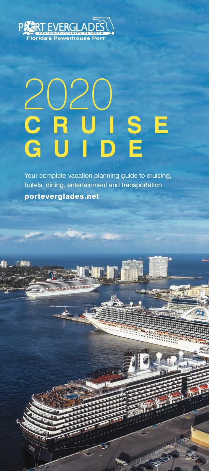 Port Everglades Cruise Schedule 2020.Calameo Port Everglades Cruise Guide 2020
