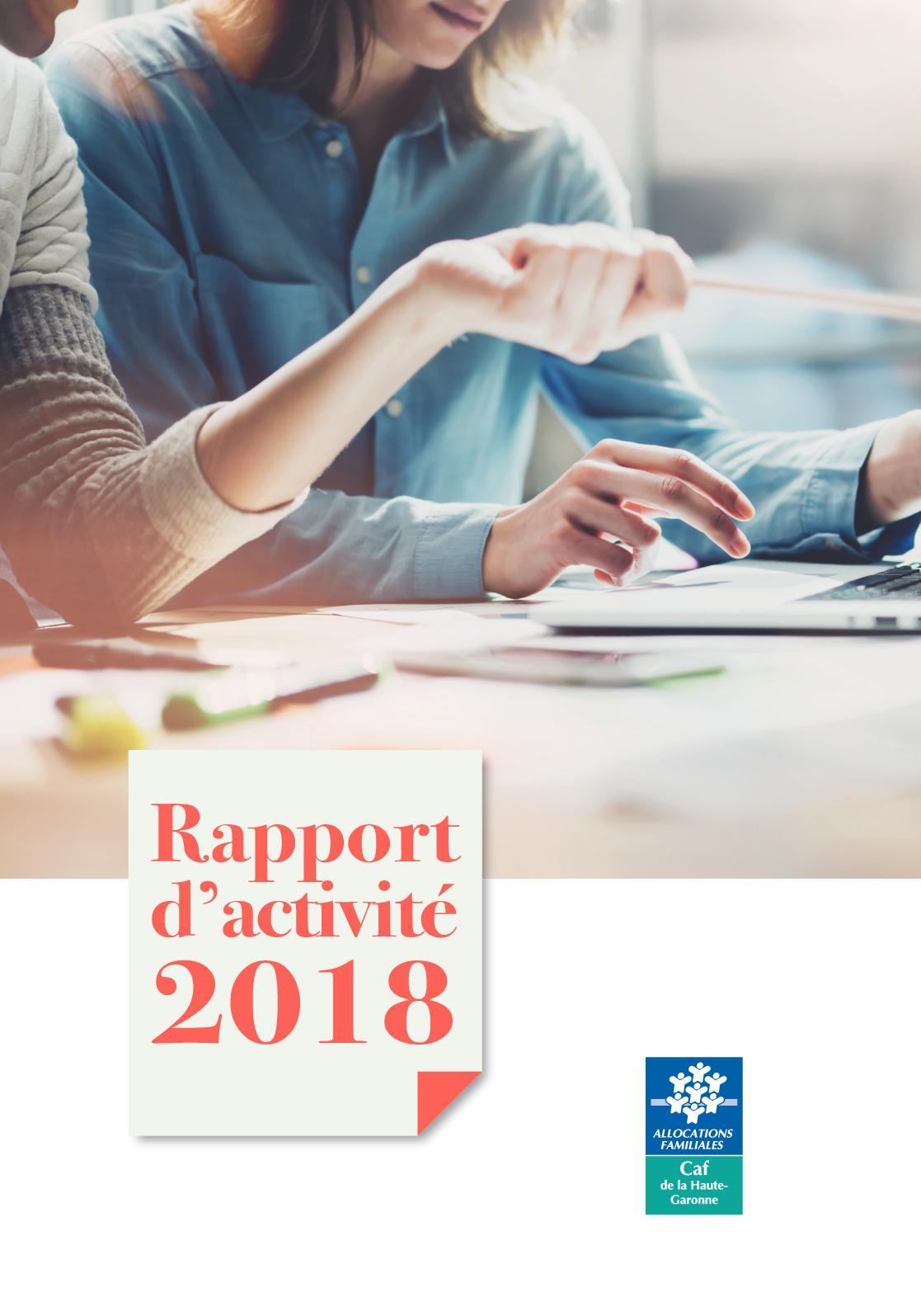 Calaméo Rapport D Activité 2018