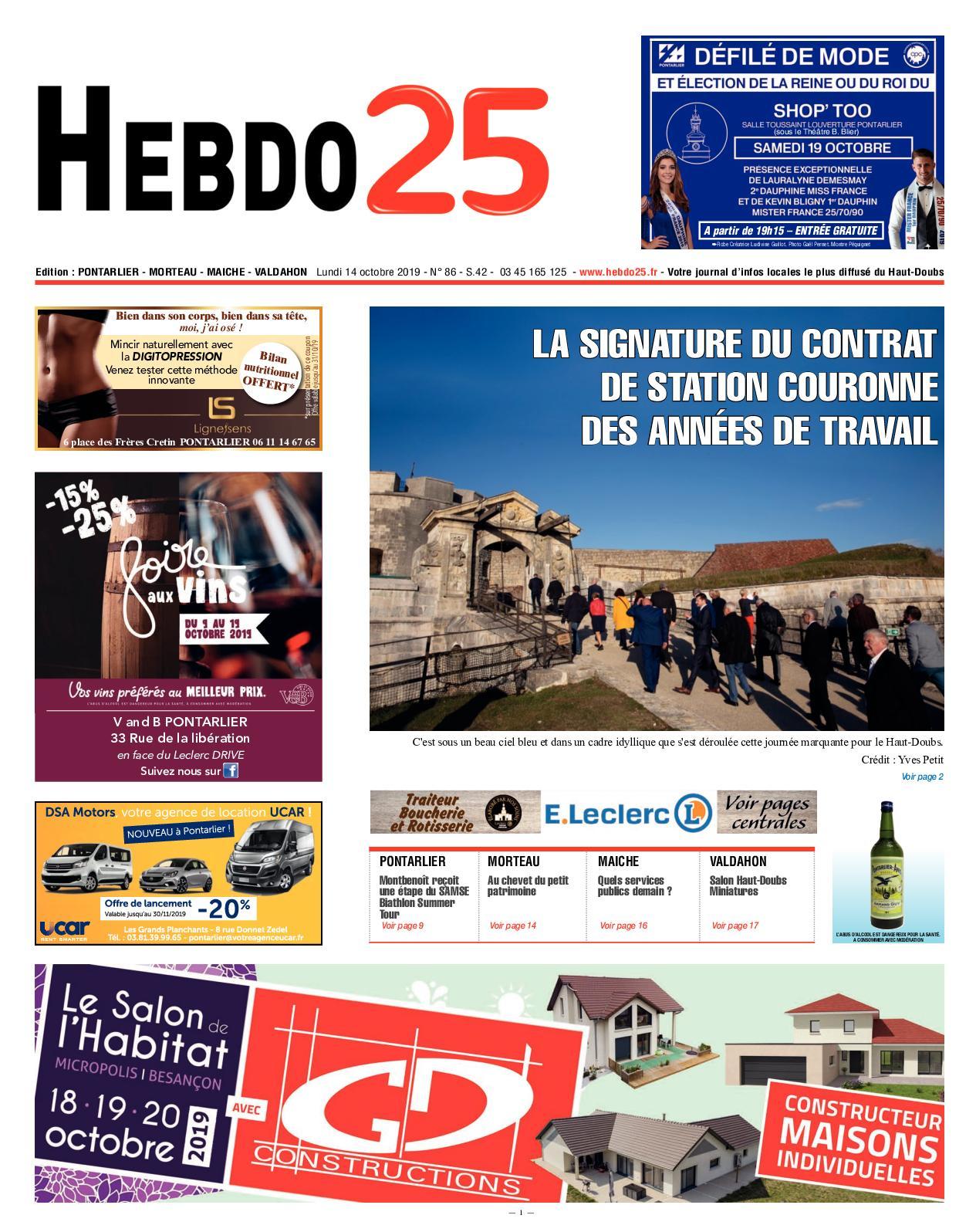 Tapis Pour Caravane Gitan calaméo - hebdo pontarlier 2019 semaine 42
