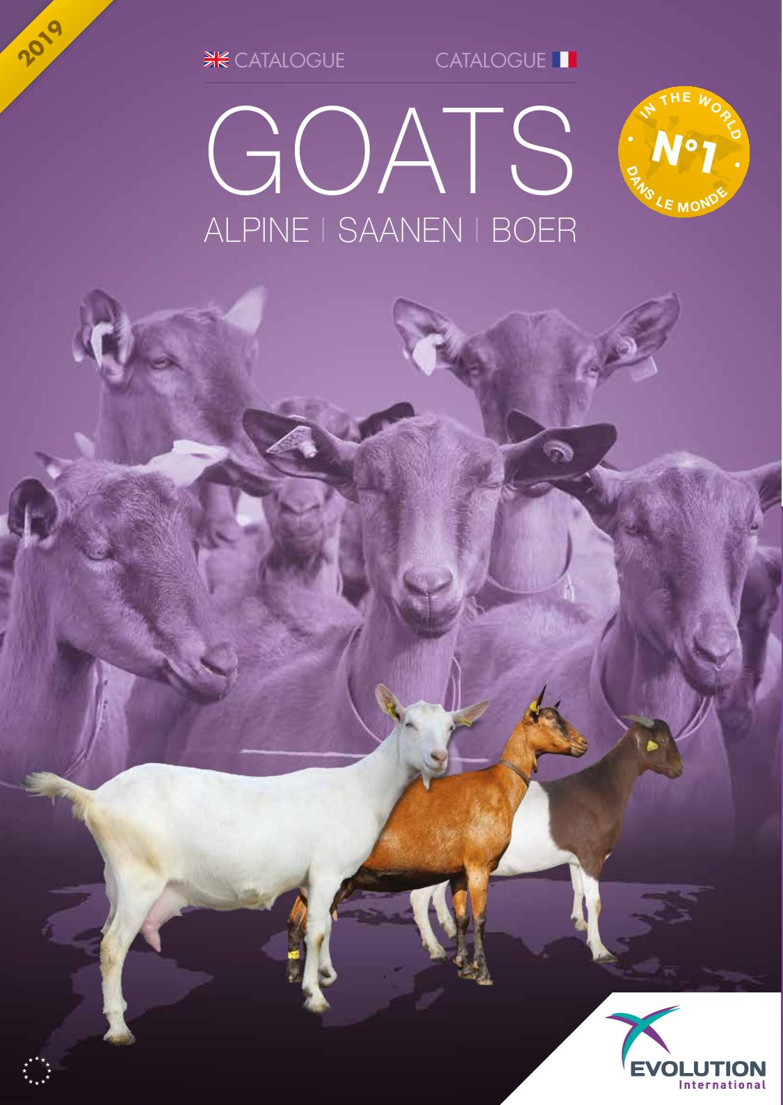 Goats Europe FR-EN - 2019 Evolution International