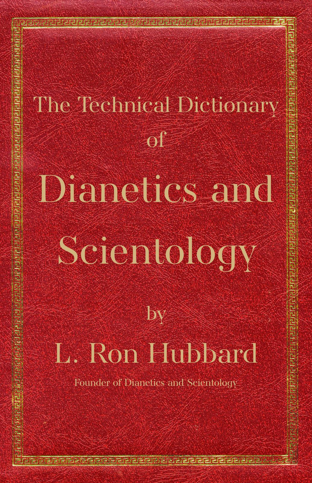 Calam O Technical Dictionary Dianetics And Scientology