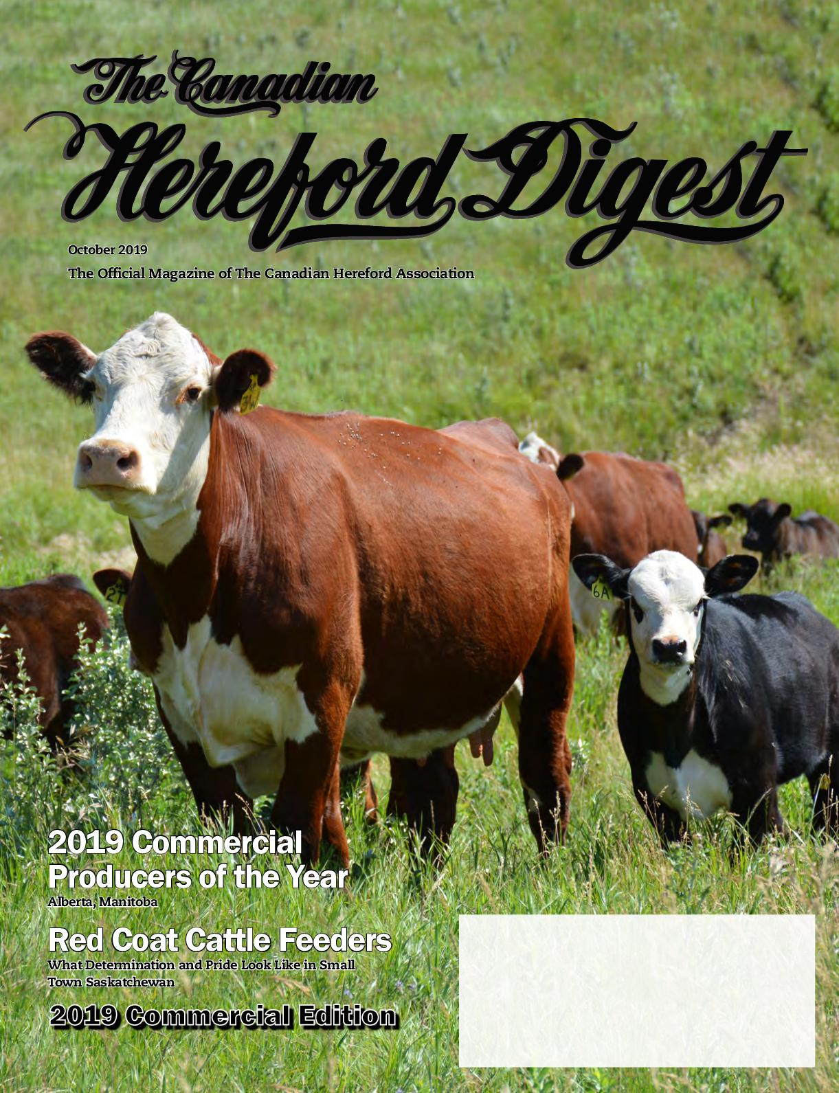 2019 October Hereford Digest