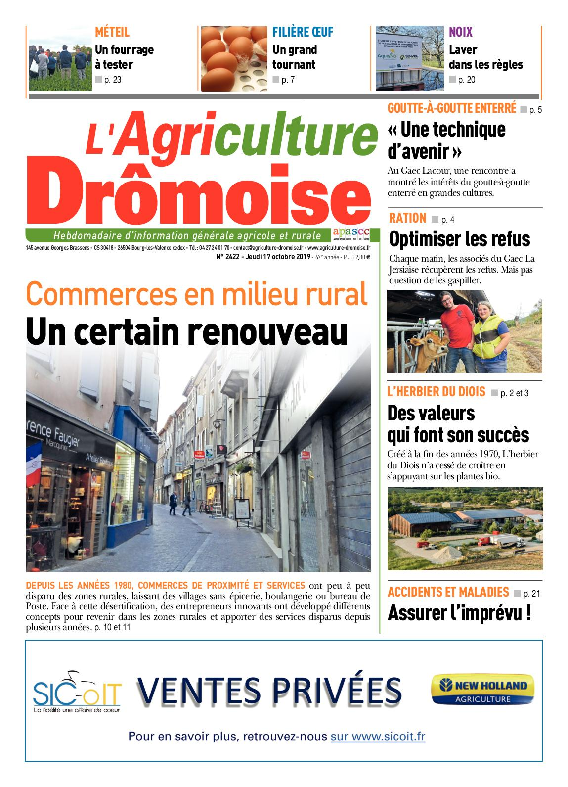Esthéticienne Le Bois D Oingt calaméo - journal l'agriculture dromoise 2422 sem42
