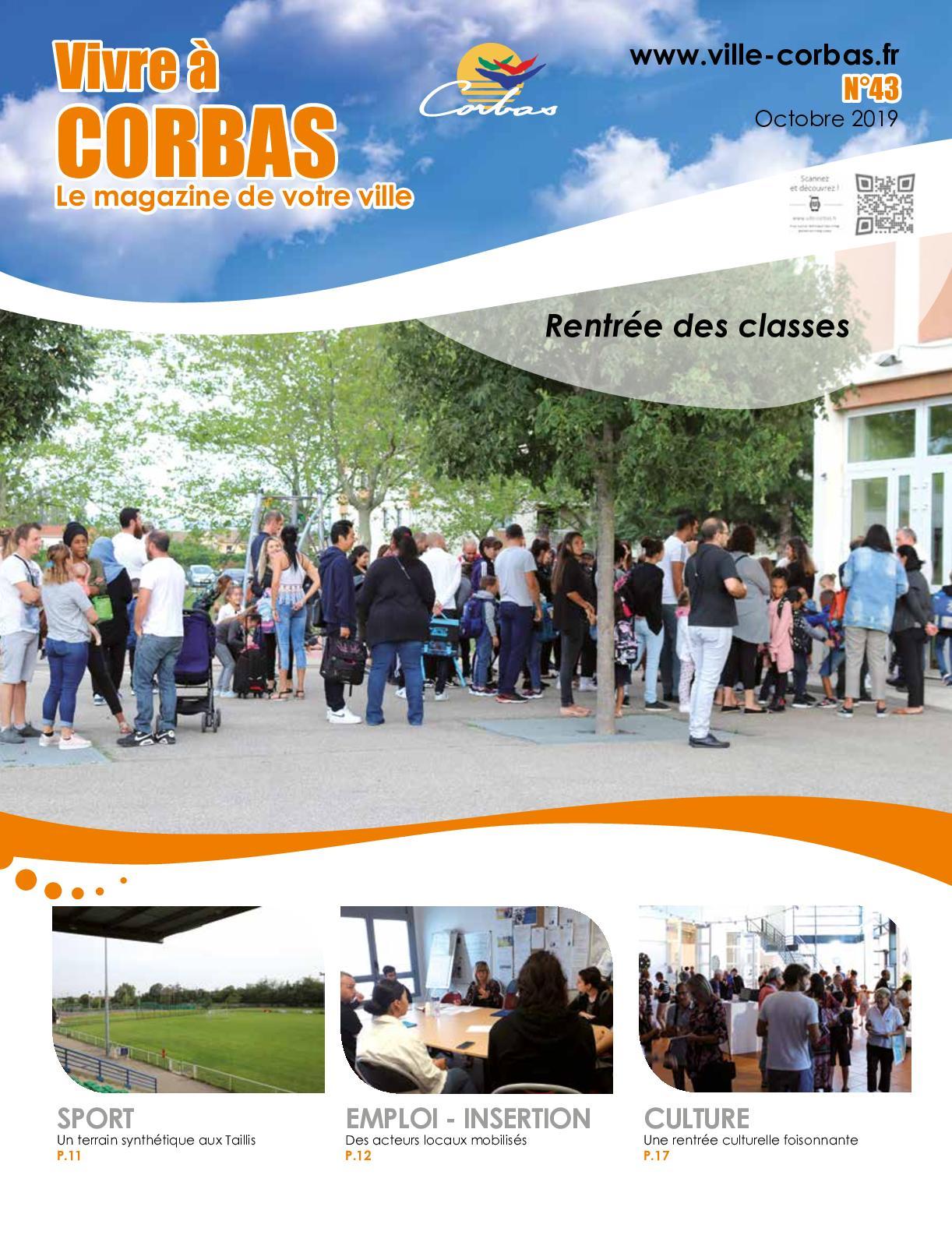 Calameo Vivre Corbas Octobre 2019 N 43