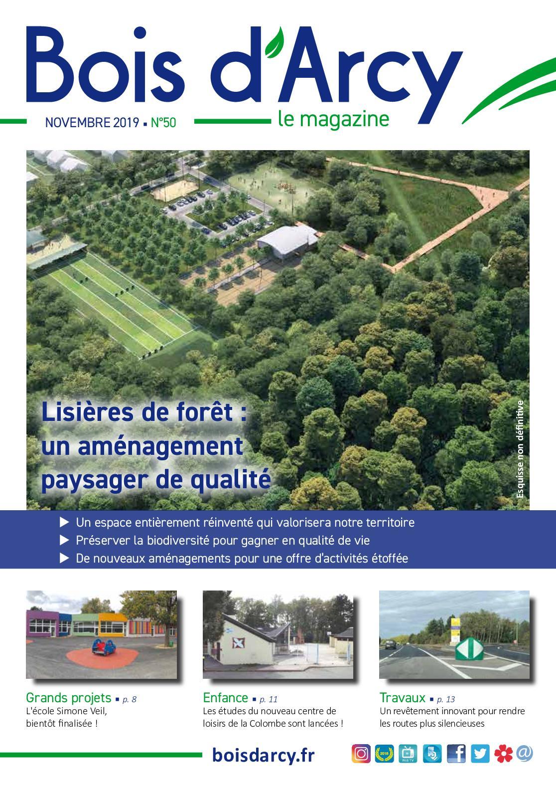 Calaméo Bois Darcy Le Magazine N50 Novembre 2019