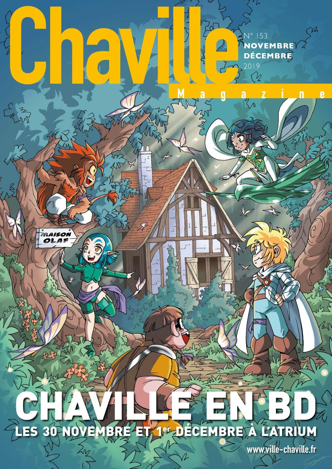 Les Sens Du Bien Etre Chaville calaméo - chaville magazine 153