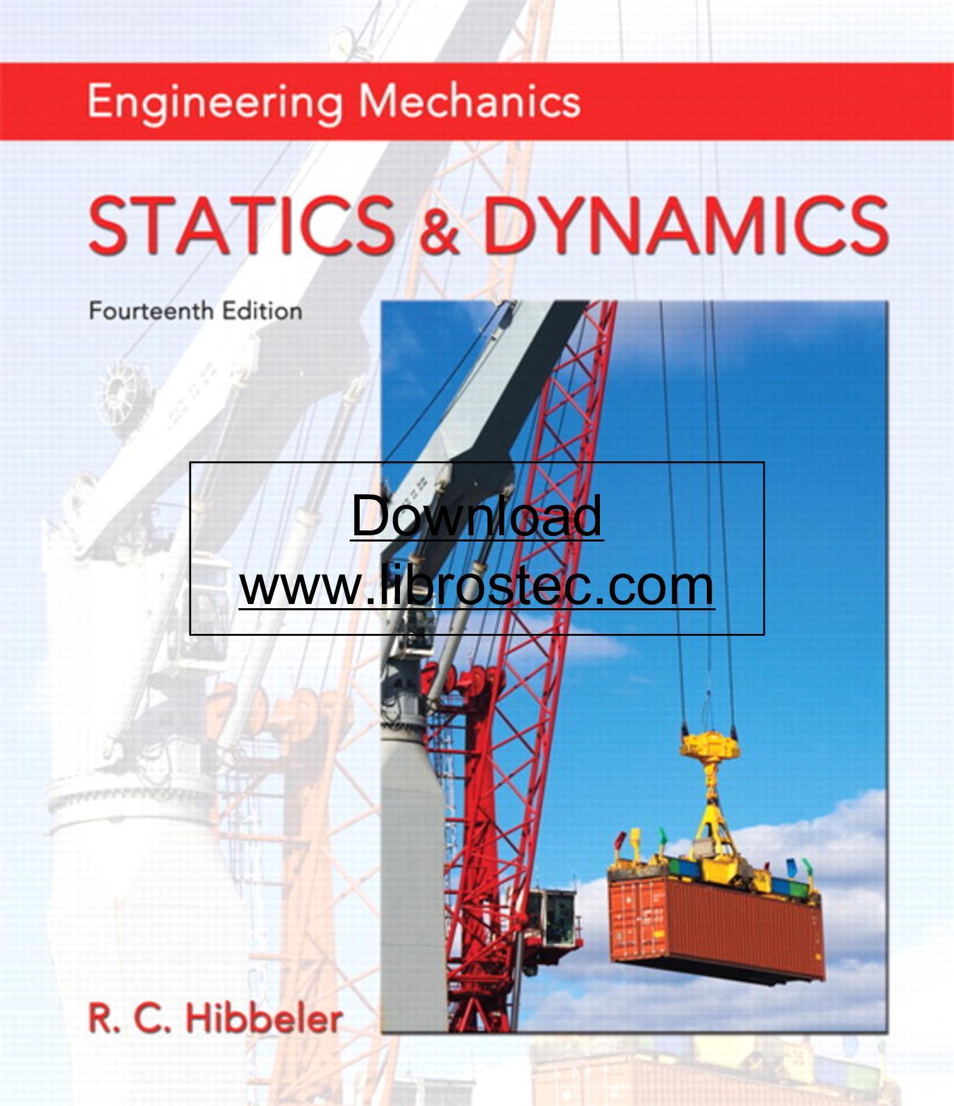 Calameo Hibbeler Engineering Mechanics Statics And Dynamics 14th Ed 2016 Pdf Download