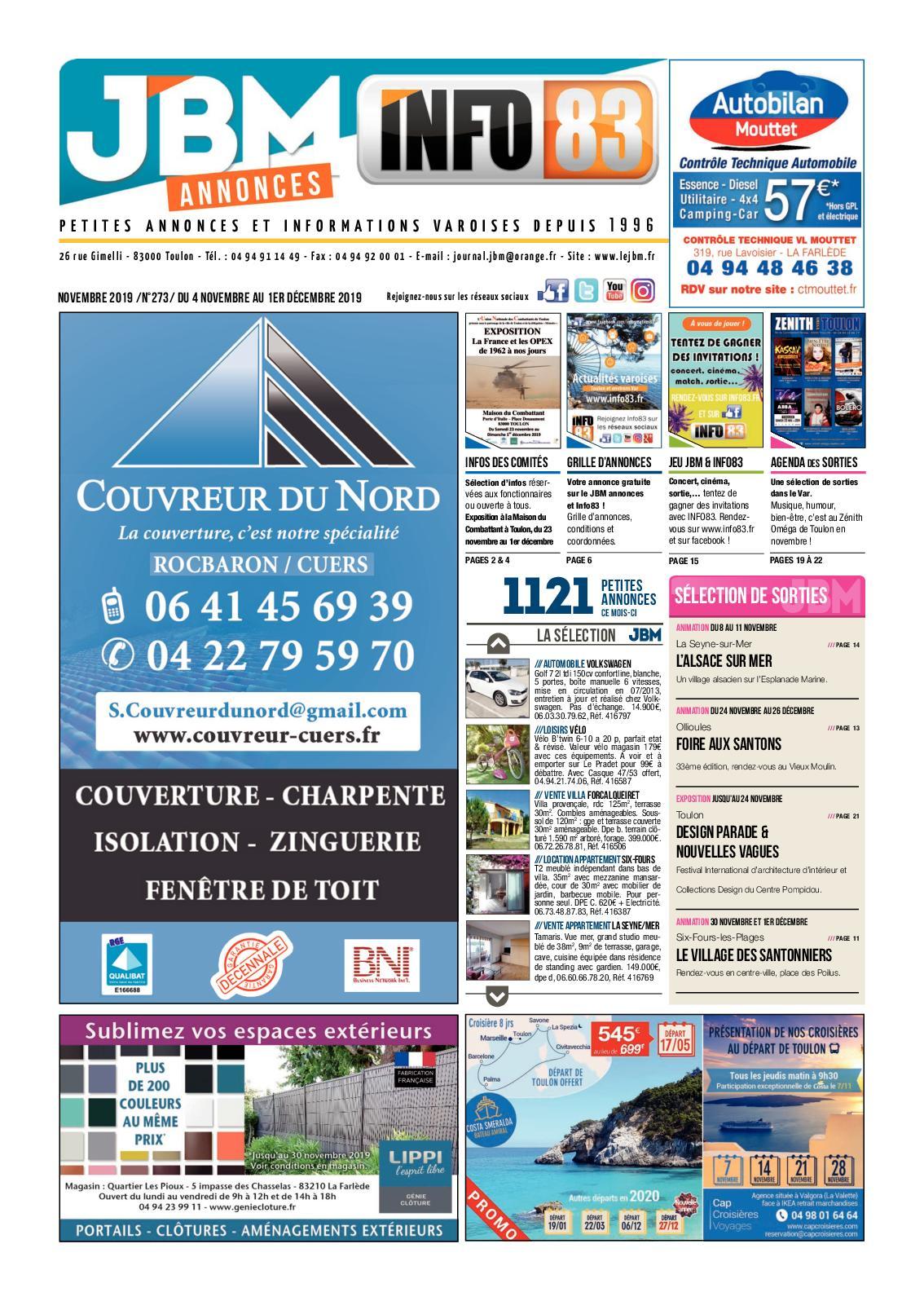 Tapis Pour Caravane Gitan calaméo - jbm273-novembre2019