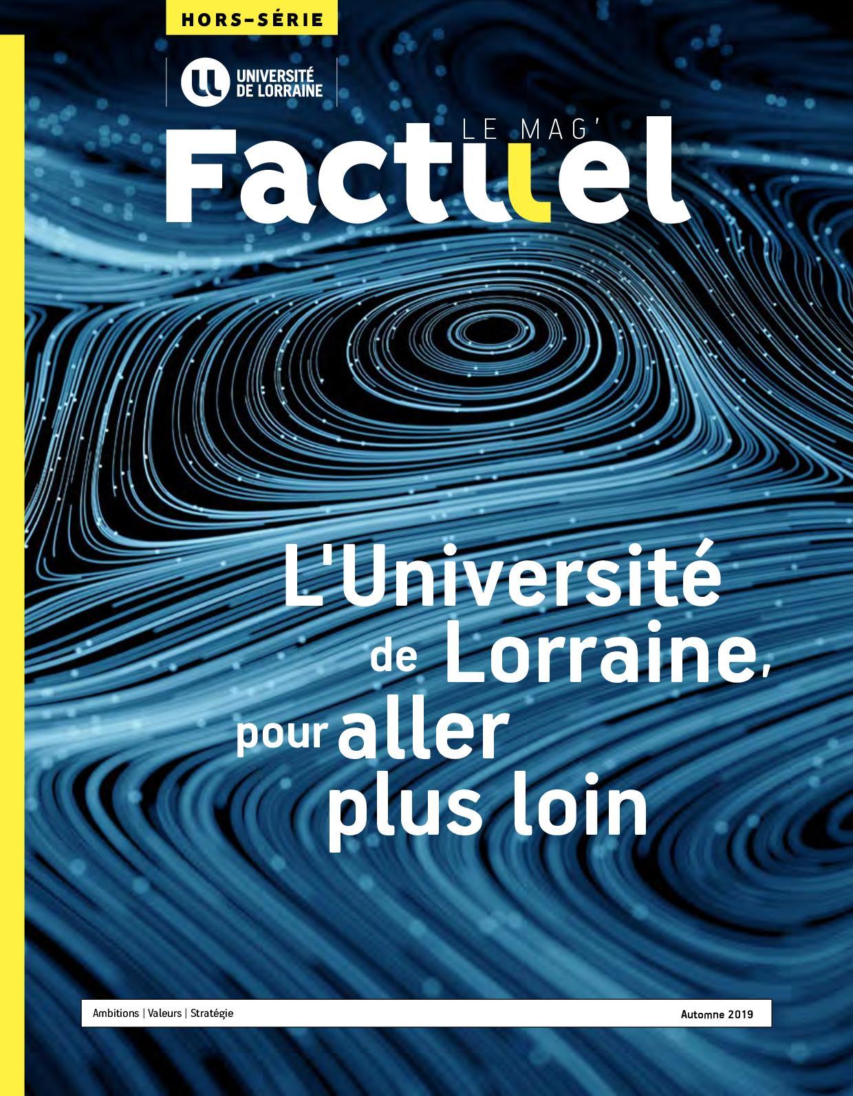 Calaméo Factuel Le Mag Hs 2019 Luniversité De Lorraine