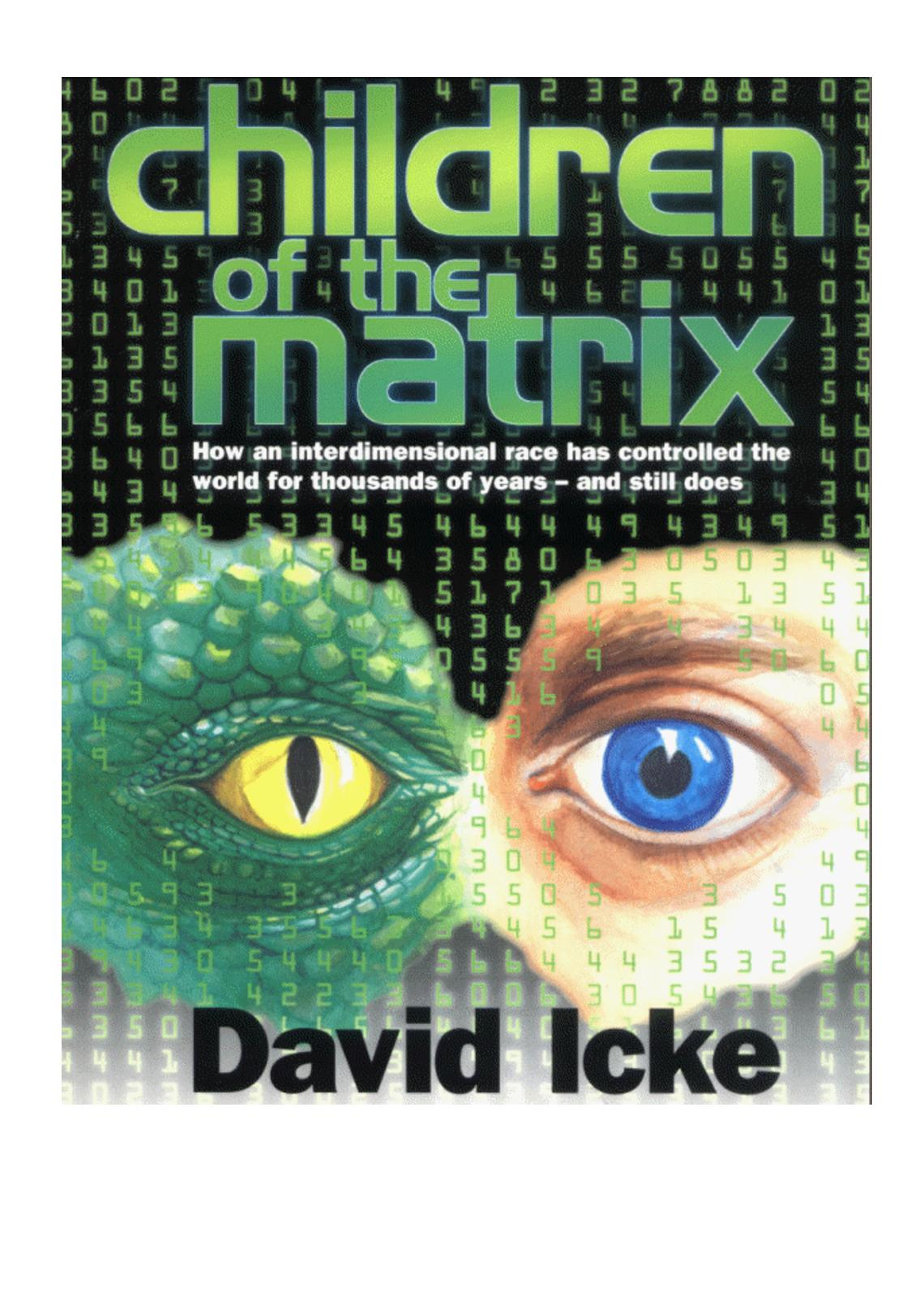 Calameo David Icke Children Of The Matrix How An