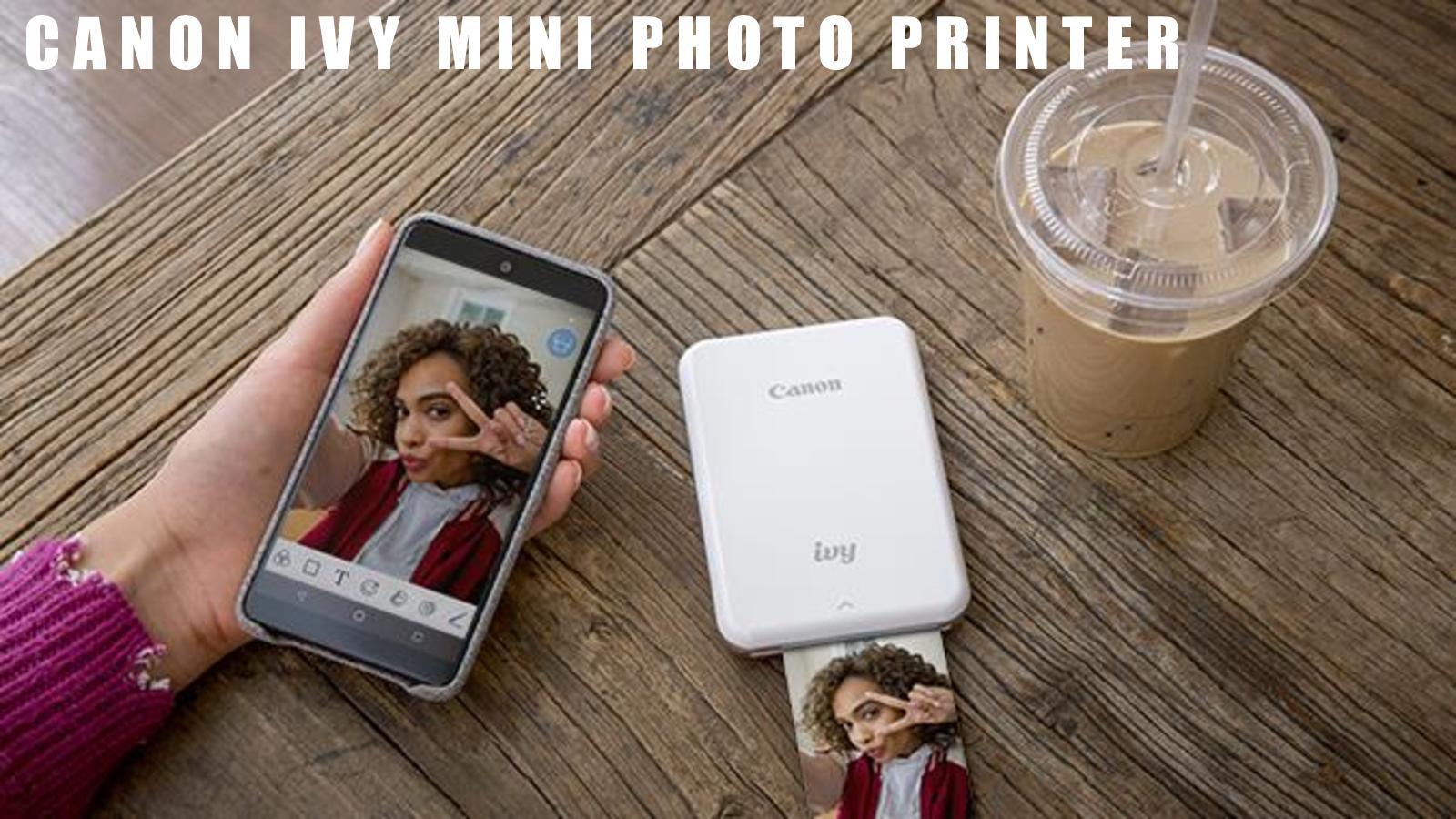 Canon ivy photo printer