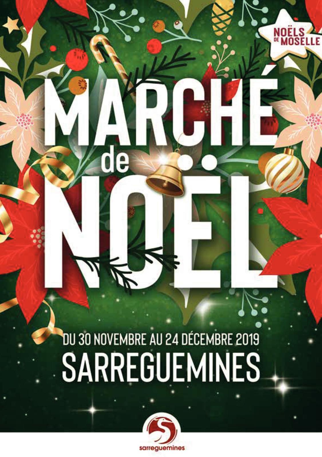 Marché de Noël Sarreguemines 2019 - Programme