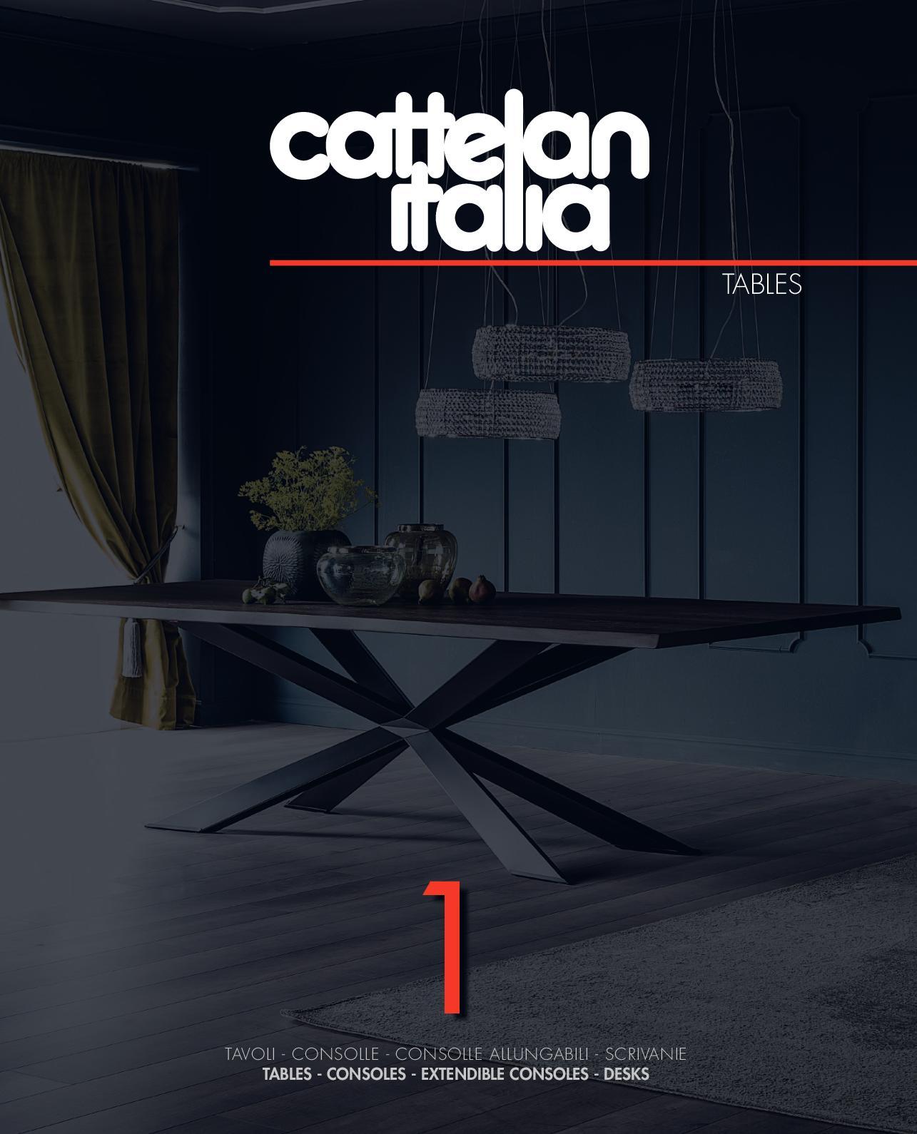 Tavolo Allargabile E Allungabile.Calameo Cattelan Italia Tables