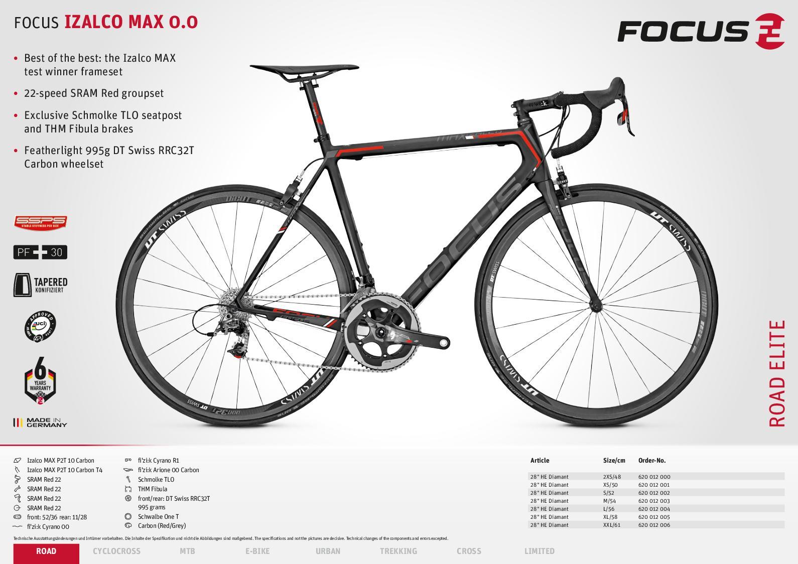 handlebar flat 740 team stealth carbon 740mm 9 black 3T mountain bike