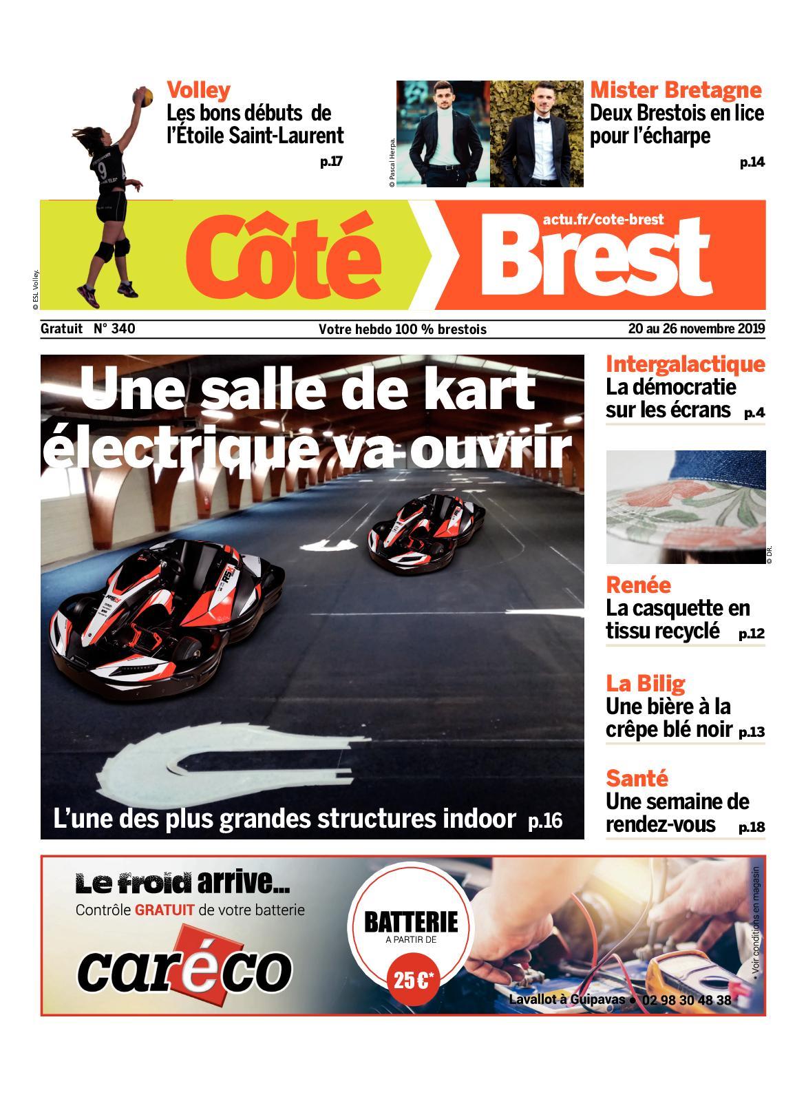 Vente De Tissus Brest calaméo - côté brest n°340