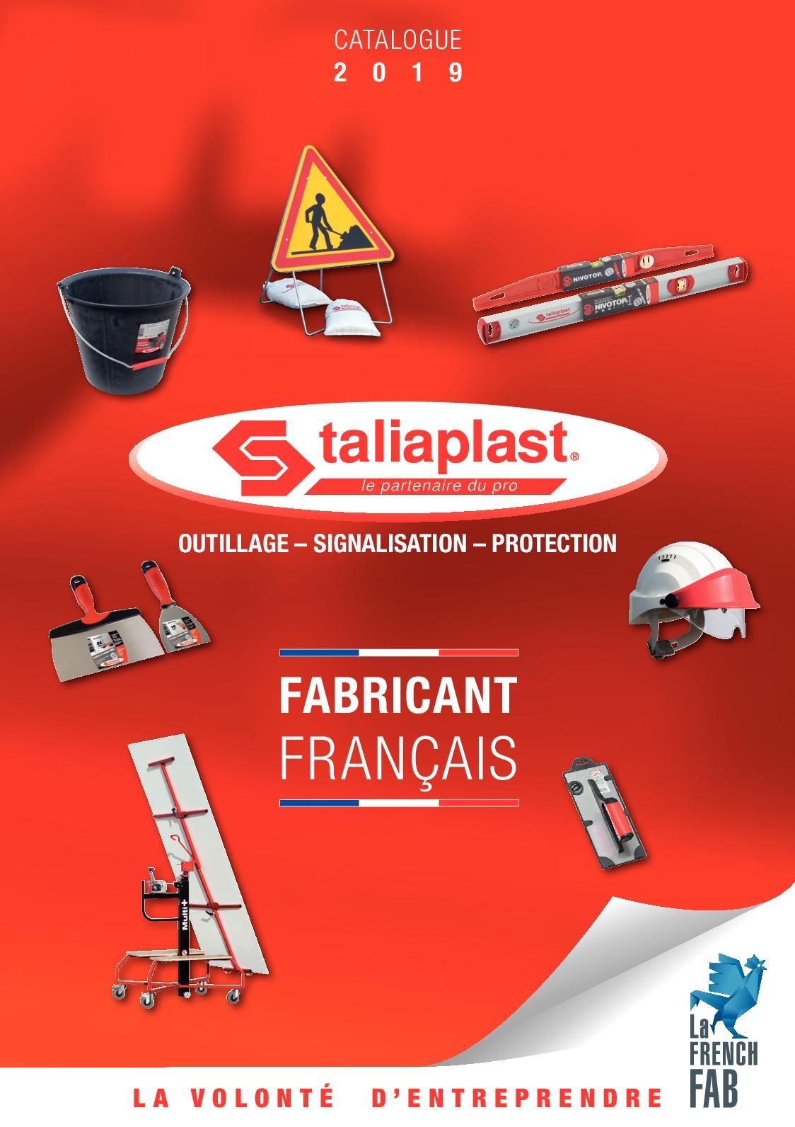 Taliaplast Rel/ève plaque poign/ée fixe brevet/é