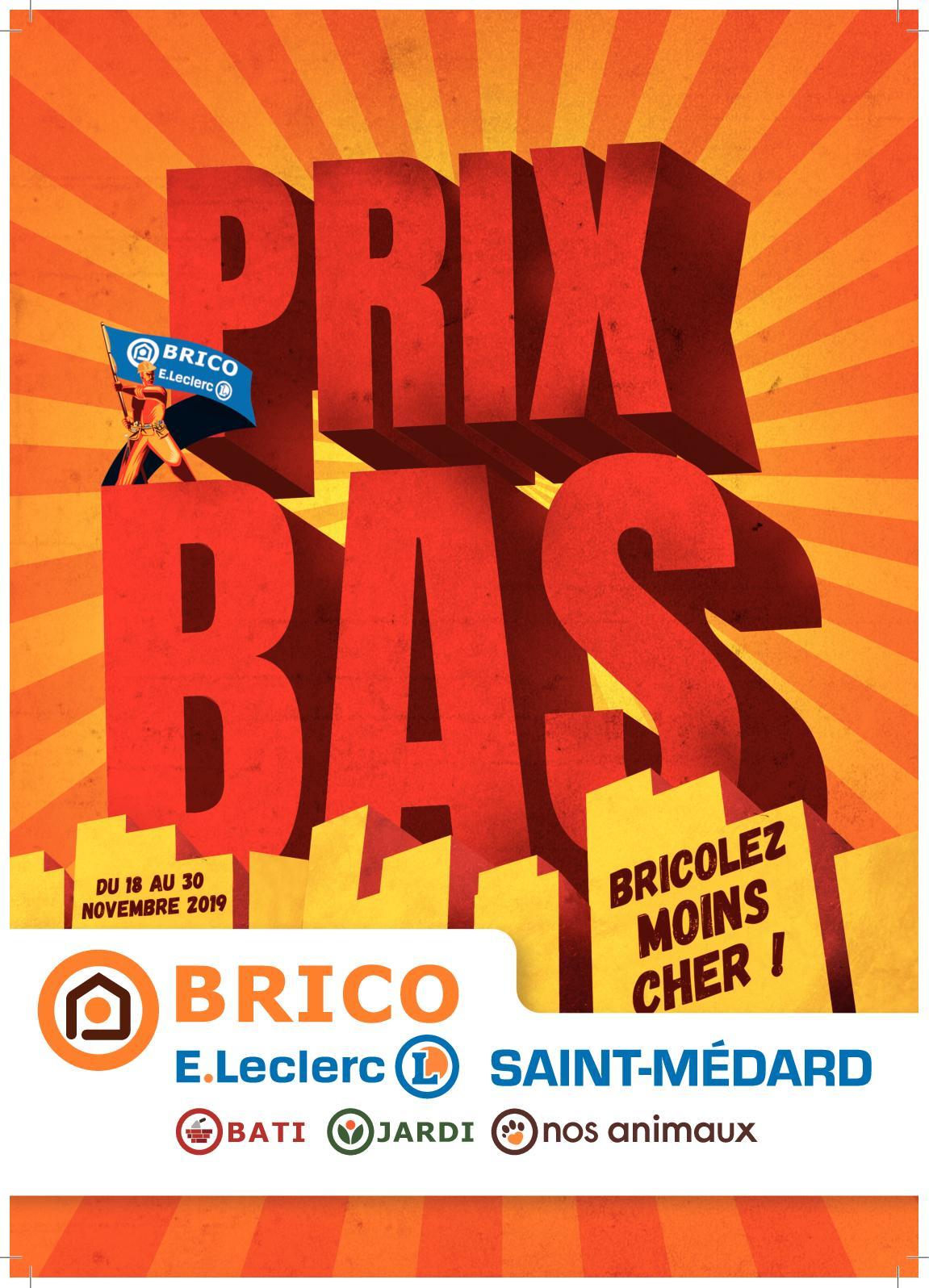 Calaméo Prix Bas Brico Saint Médard