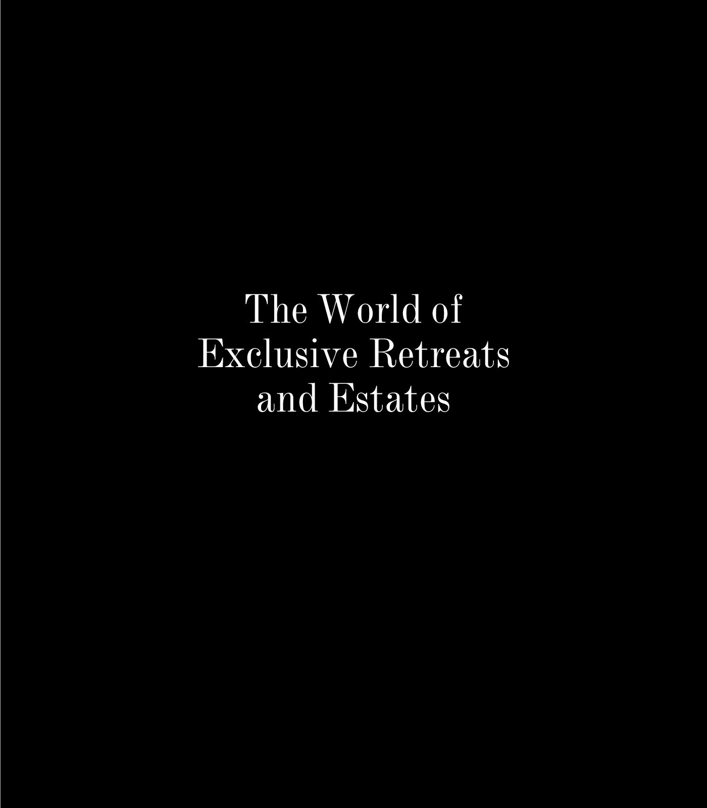 Calaméo The World Of Exclusive Retreats And Estates