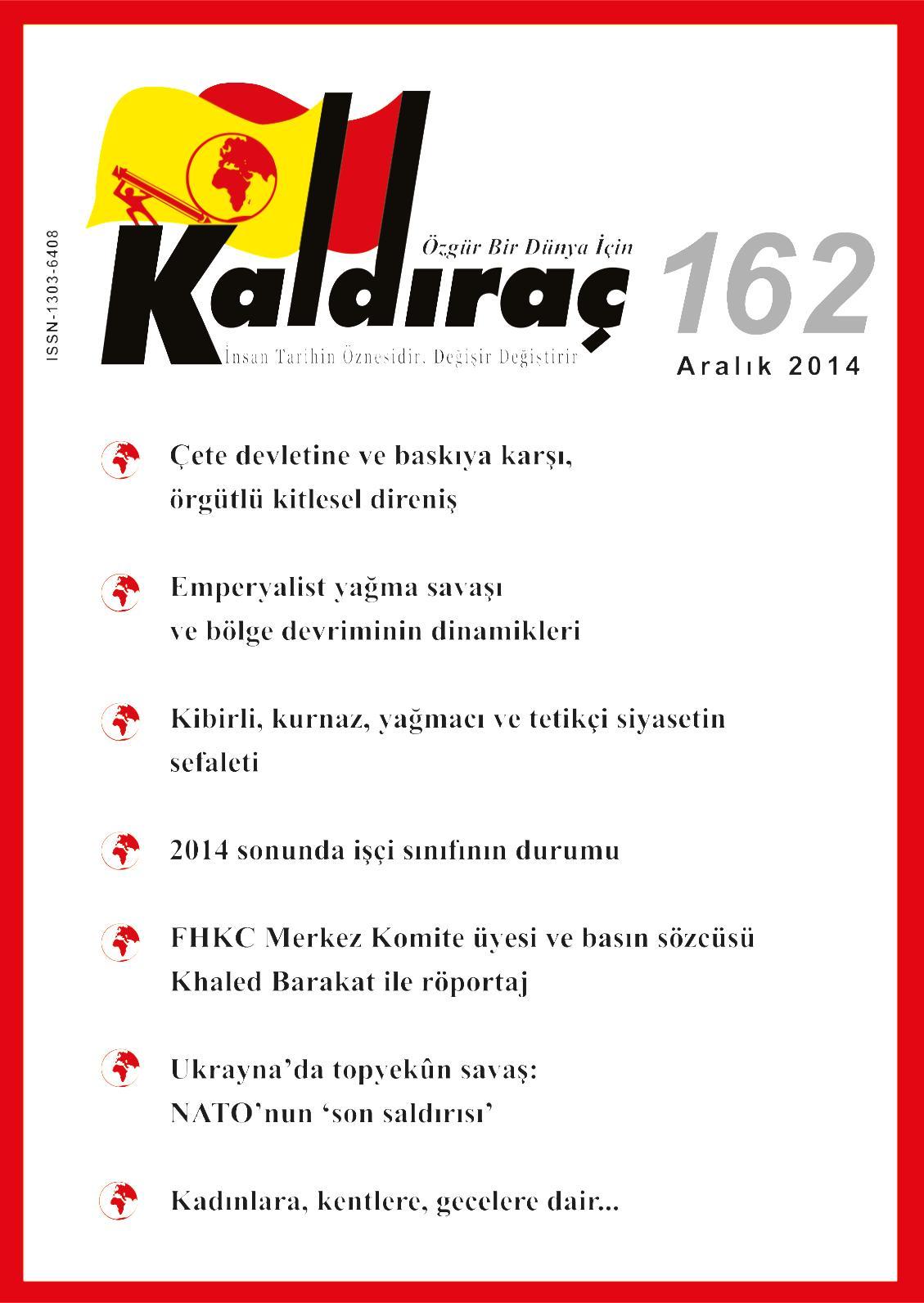 Calameo Kaldirac 162 Sayi Aralik 2014