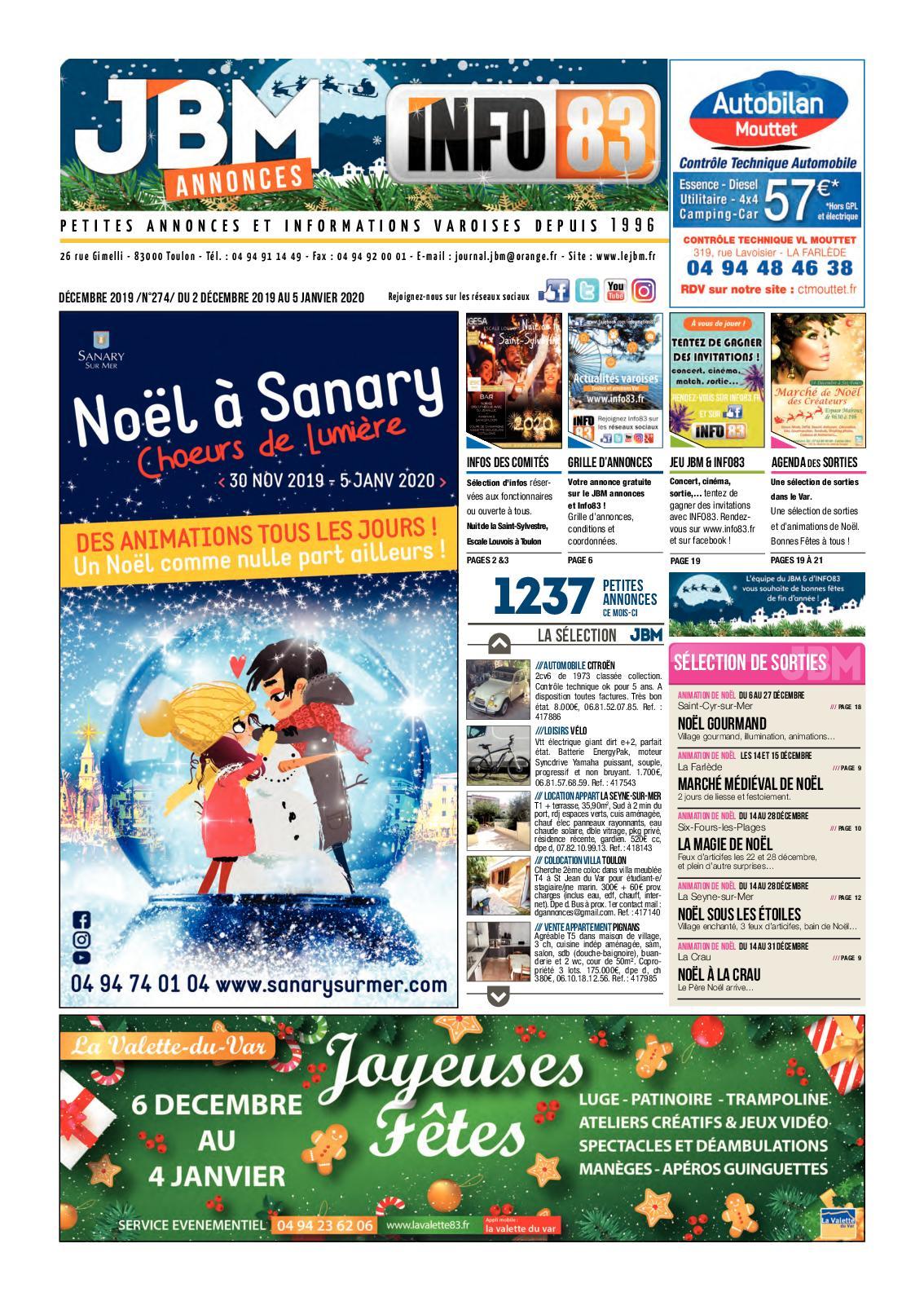 Tapis Pour Caravane Gitan calaméo - jbm274-decembre2019