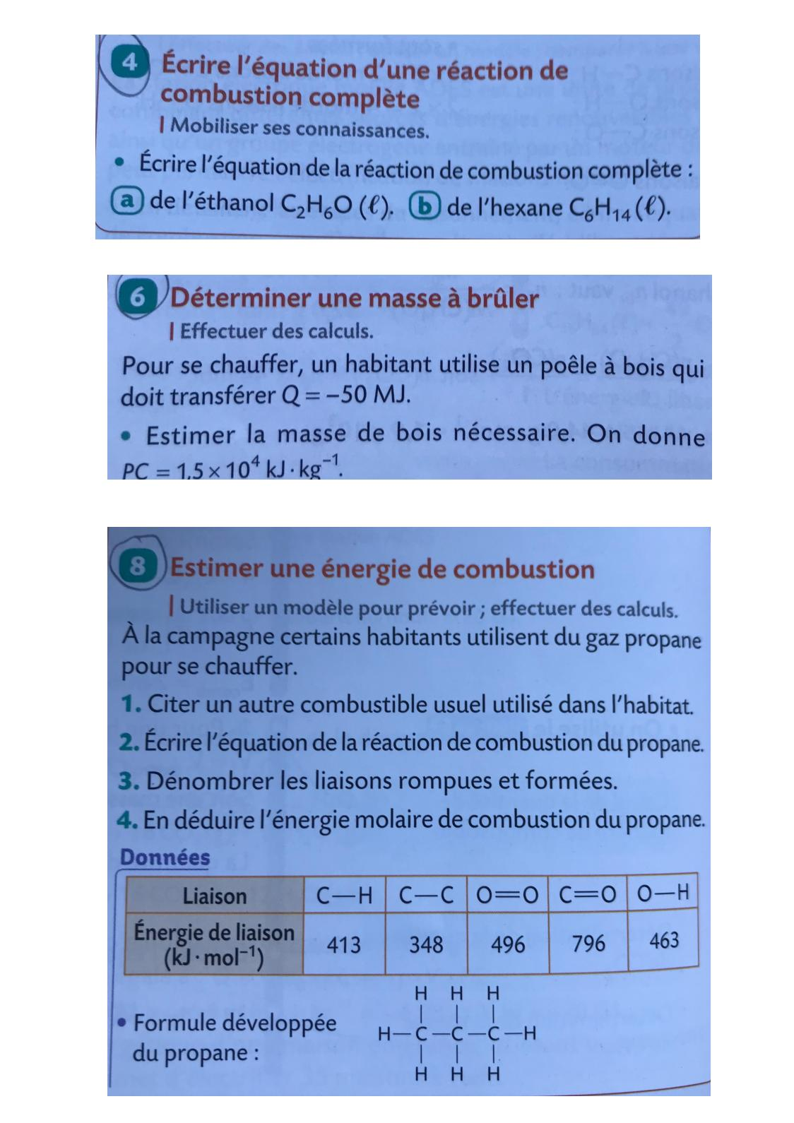 Calameo Exercices Conversion De L Energie Organique