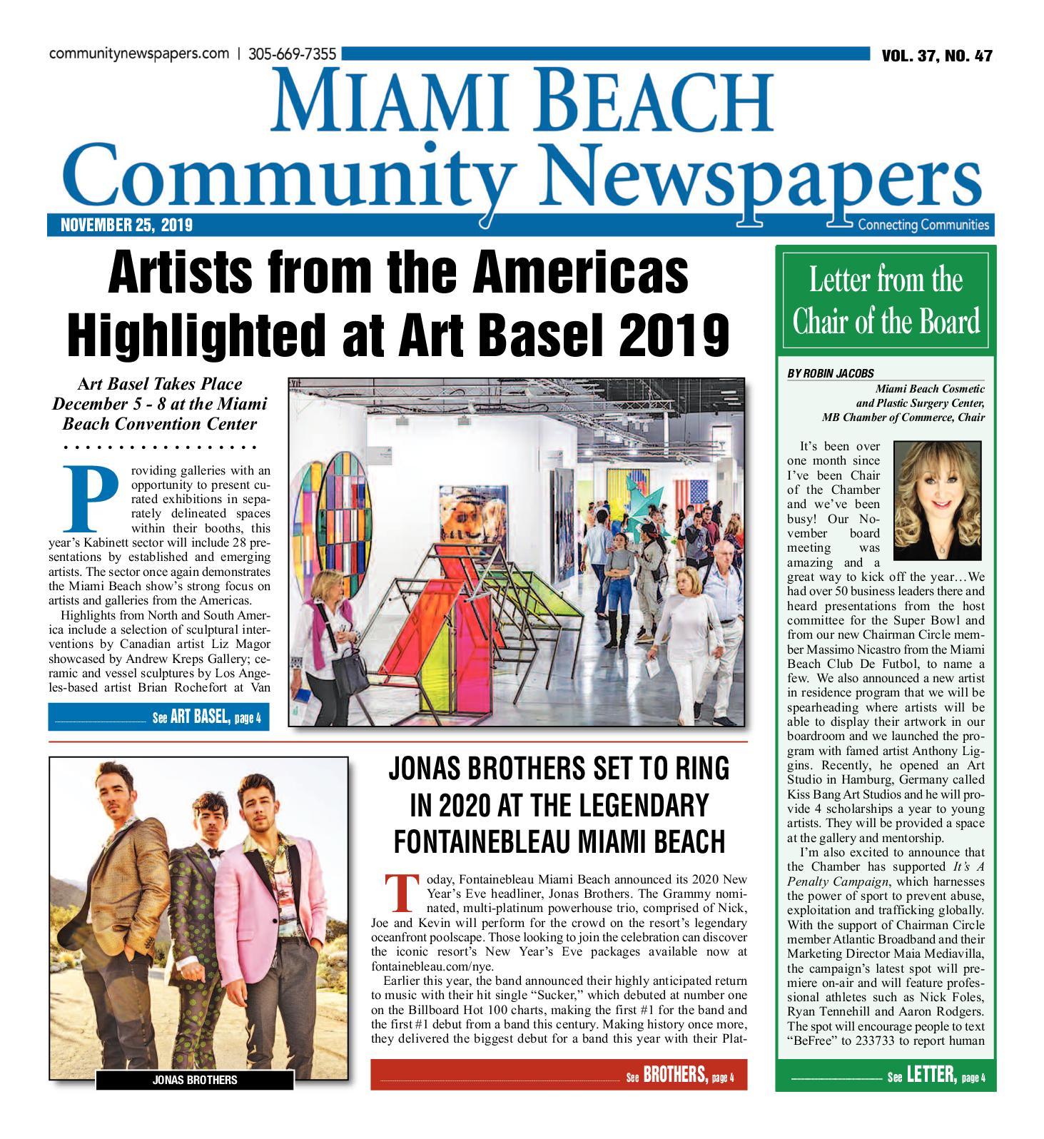 Calaméo Miami Beach News 11 25 2019