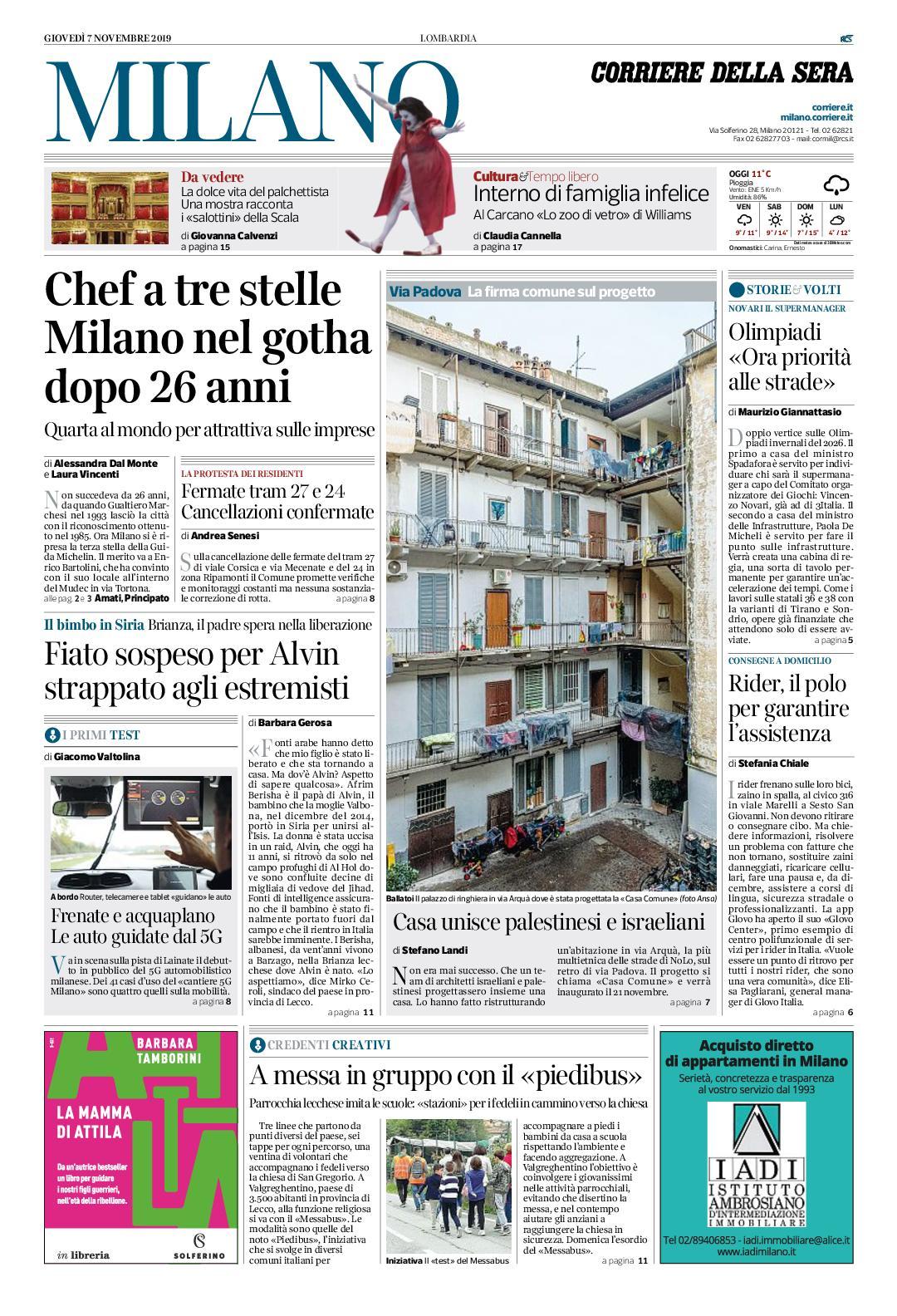 Prezzi Camere Da Letto Gotha calaméo - corriere della sera milano 7 novembre 2019 by pd s