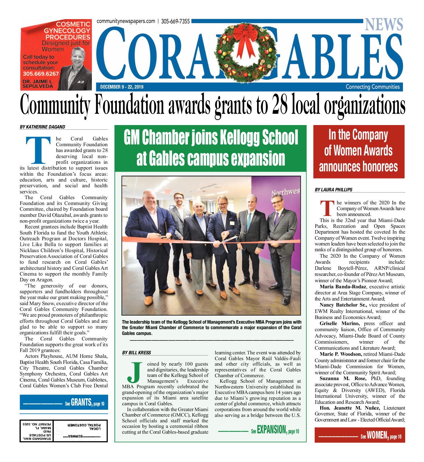 Calaméo Coral Gables News 12 9 2019