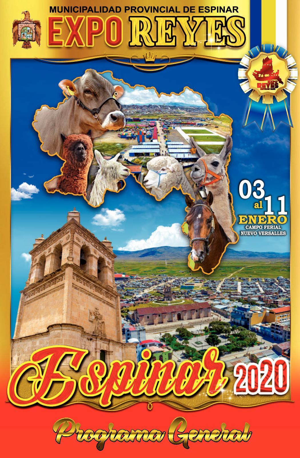 Programa Expo Reyes 2020