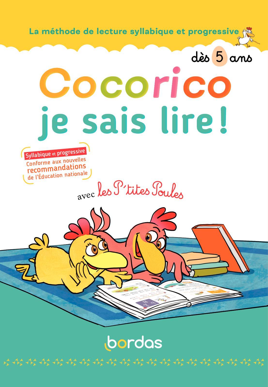 Cocorico, je sais lire! - Méthode de lecture 7 ans