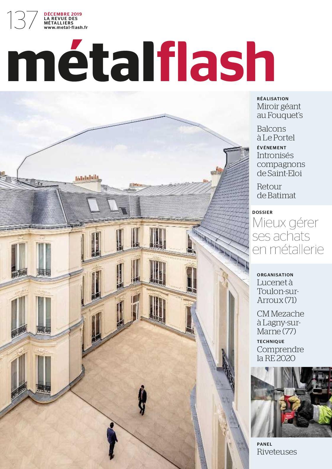 Menuiserie Lagny Sur Marne calaméo - métal flash n°137