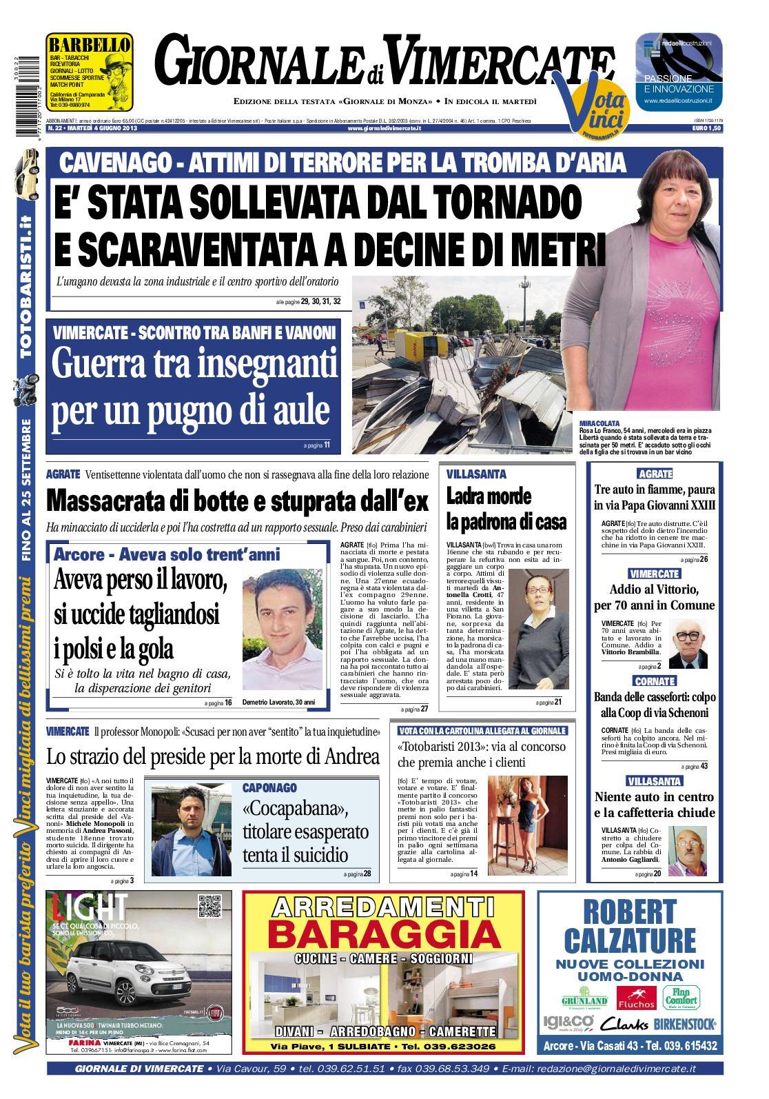 Calaméo Giornale Di Vimercate 20 Agosto 2013